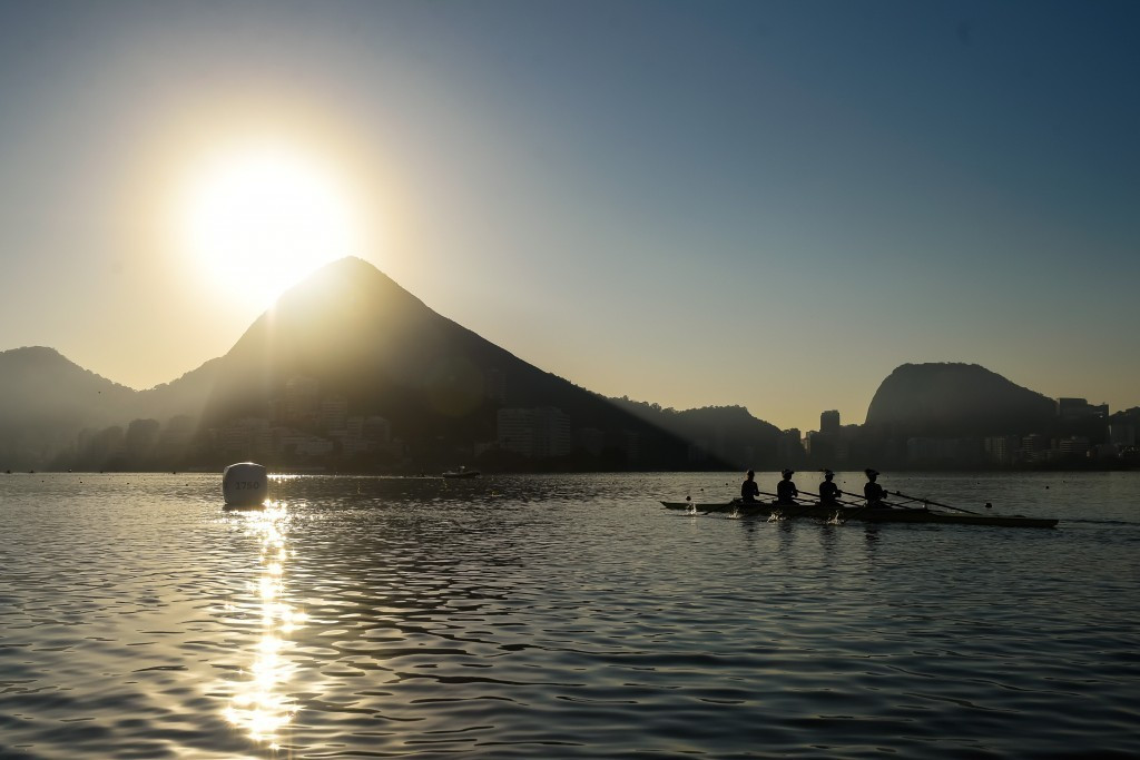 Rio 2016 scrapped plans for a 4,000-seater floating grandstand at the Lagoa Rodrigo de Freitas rowing and canoe sprint venue last month