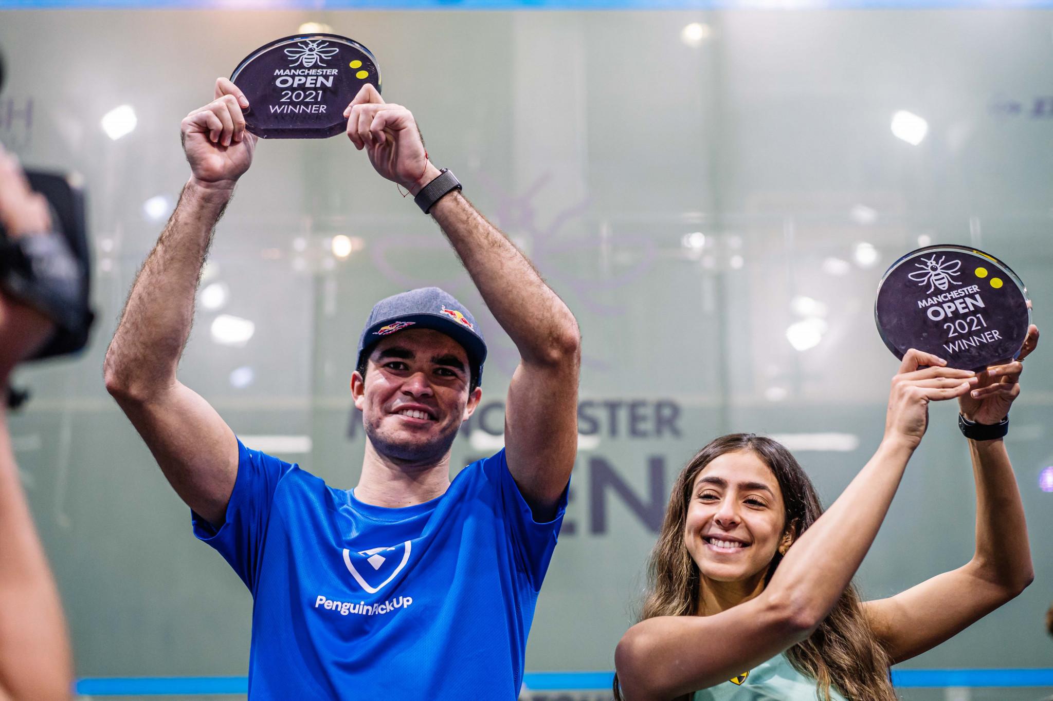 El Hammamy and Elías triumph at Manchester Open