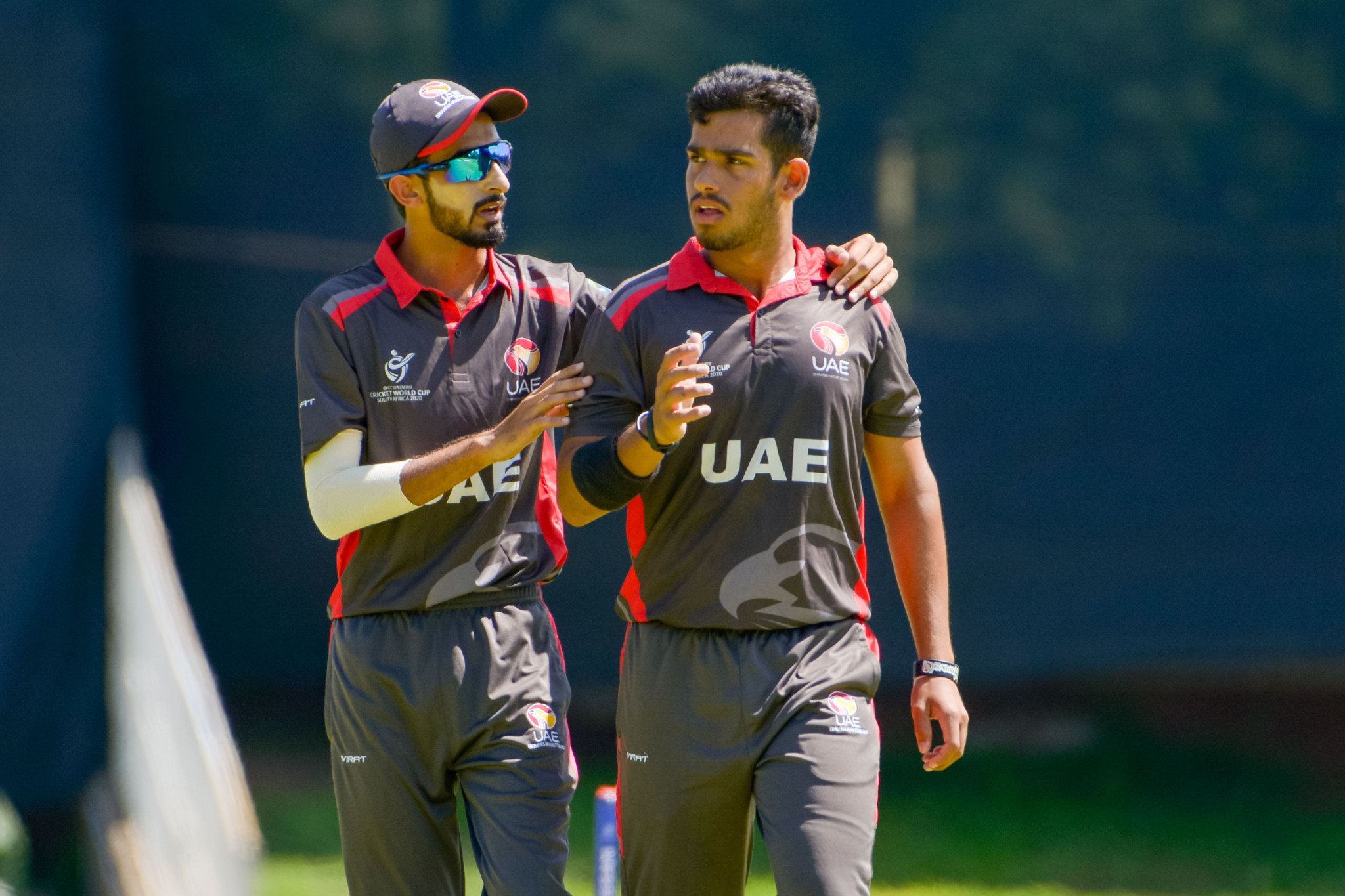 The United Arab Emirates and Oman are ranked 15th and 18th in the ICC Twenty20 Rankings, respectively. ©Getty Images
