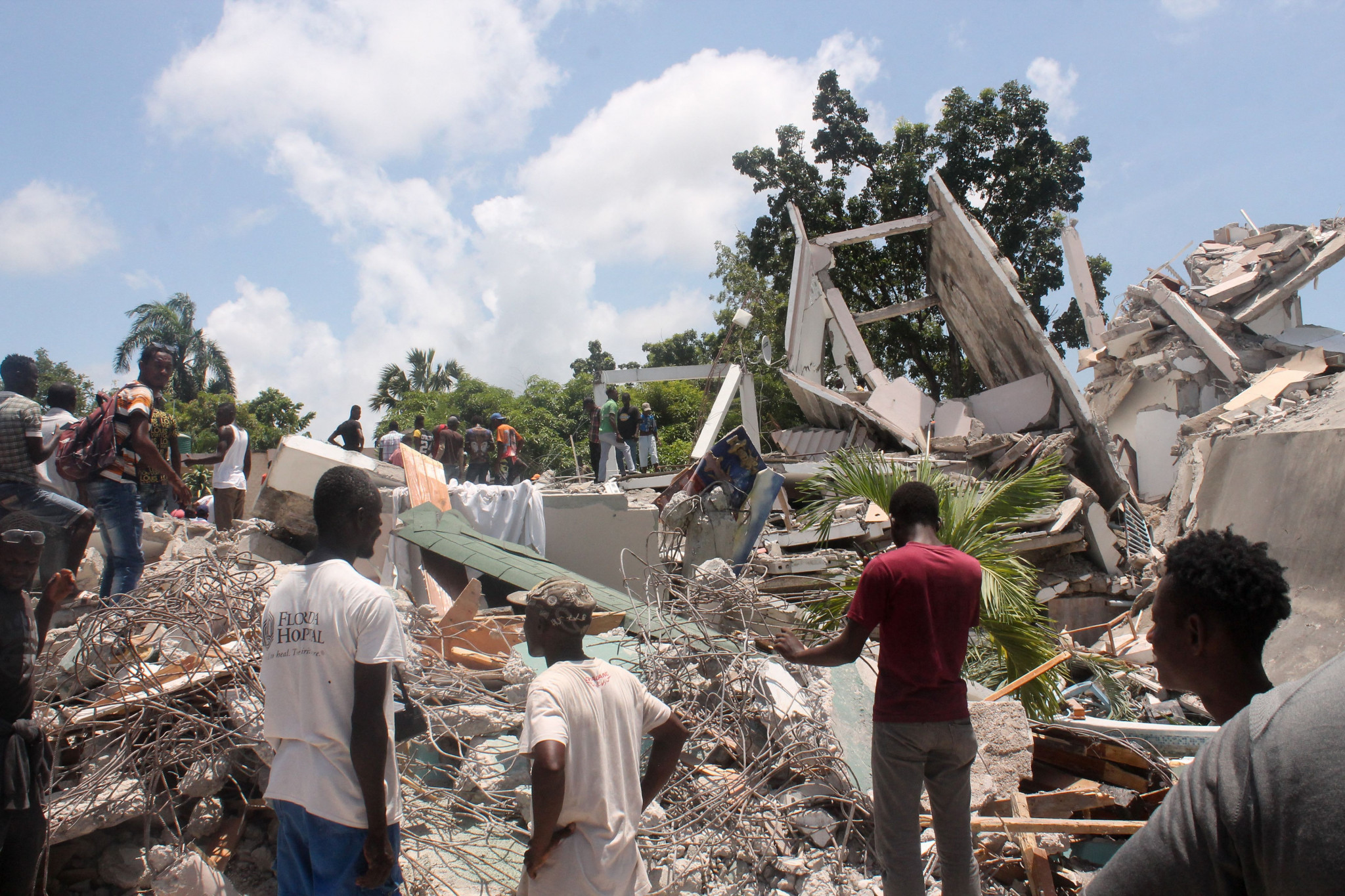 An earthquake measuring 7.2 on the Richter scale struck Haiti yesterday - stronger than the catastrophic earthquake of 2010 ©Getty Images