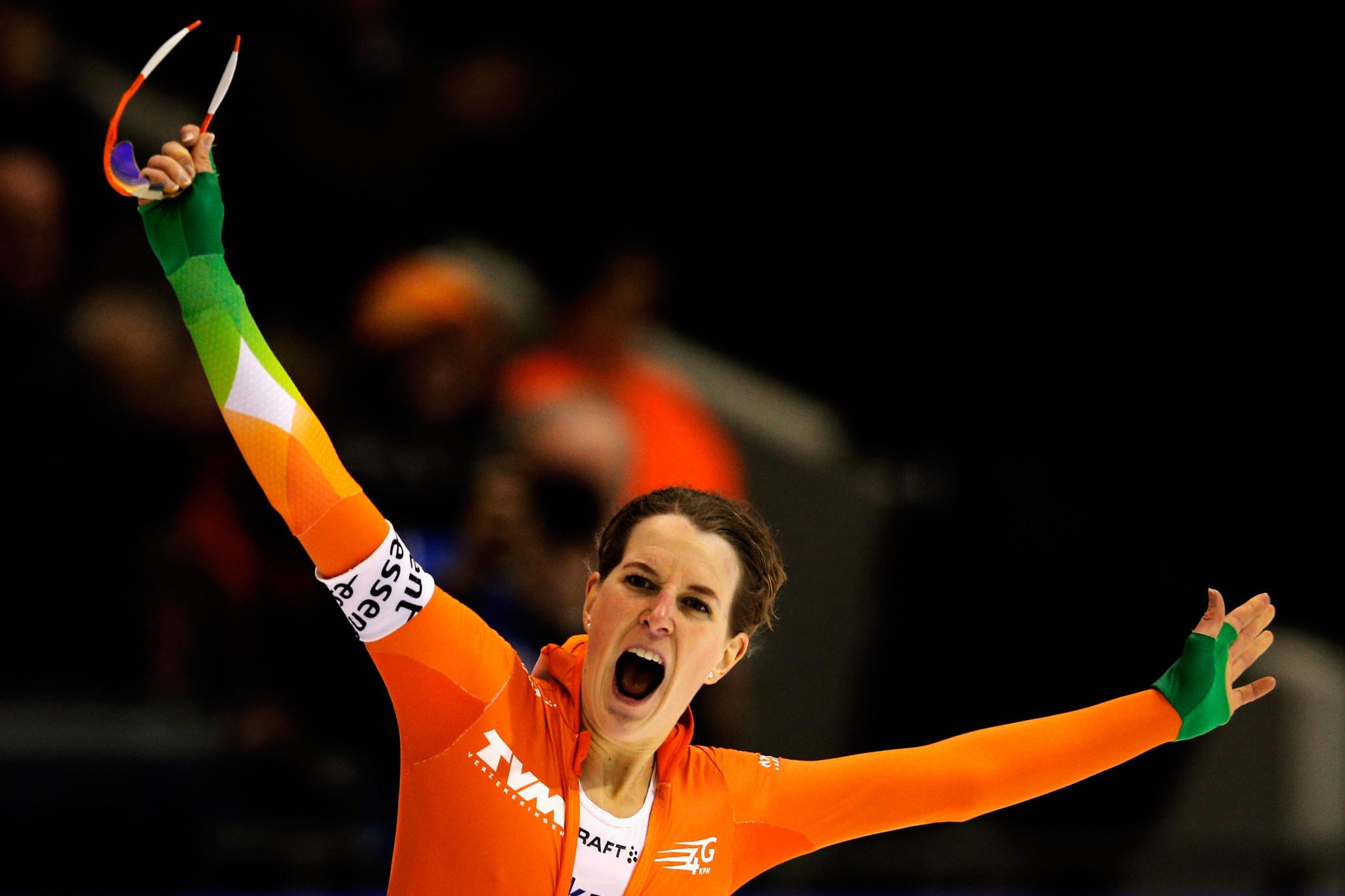 Irene West is een van de belangrijkste wintersporters van Nederland, openlijk biseksueel © Getty Images