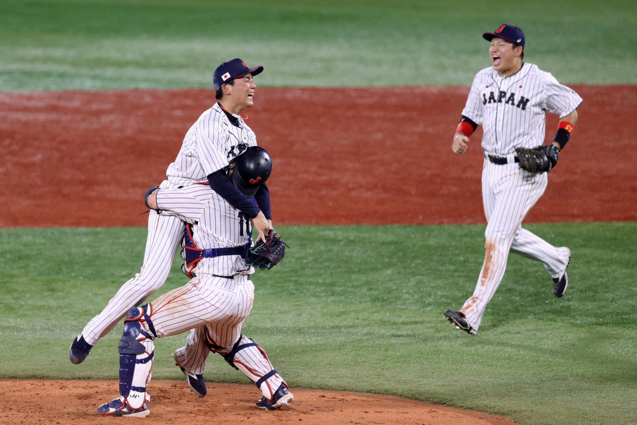 日本の野球チームはアメリカを破り、オリンピックチャンピオンに輝いたことを嬉しく思います。