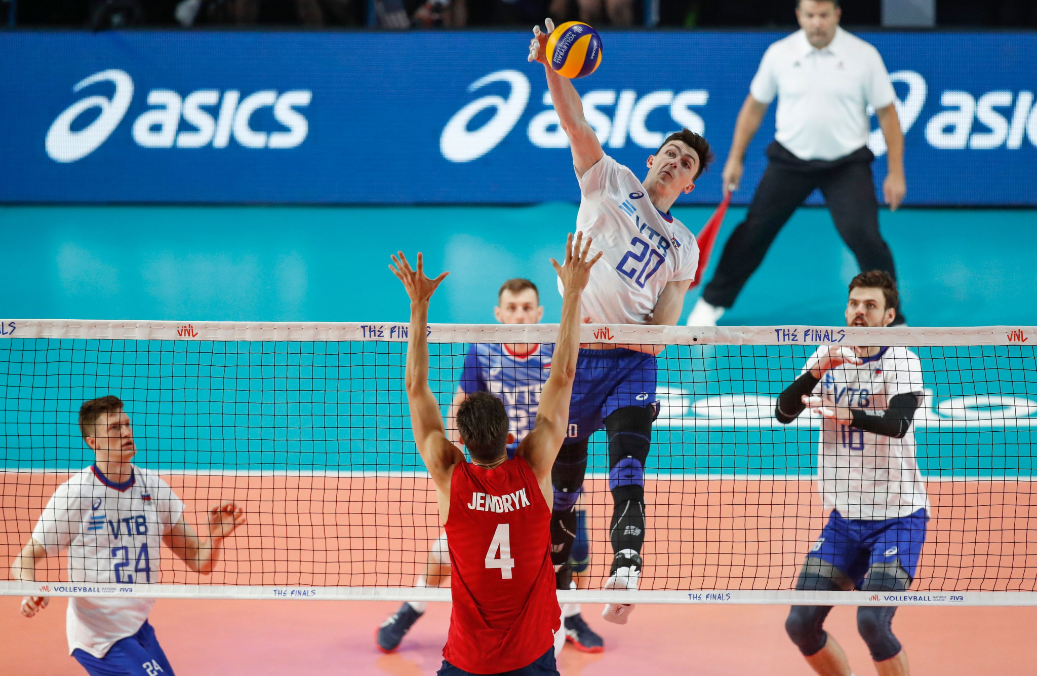 Expanded knockout stage at Volleyball Nations League to run from 2022