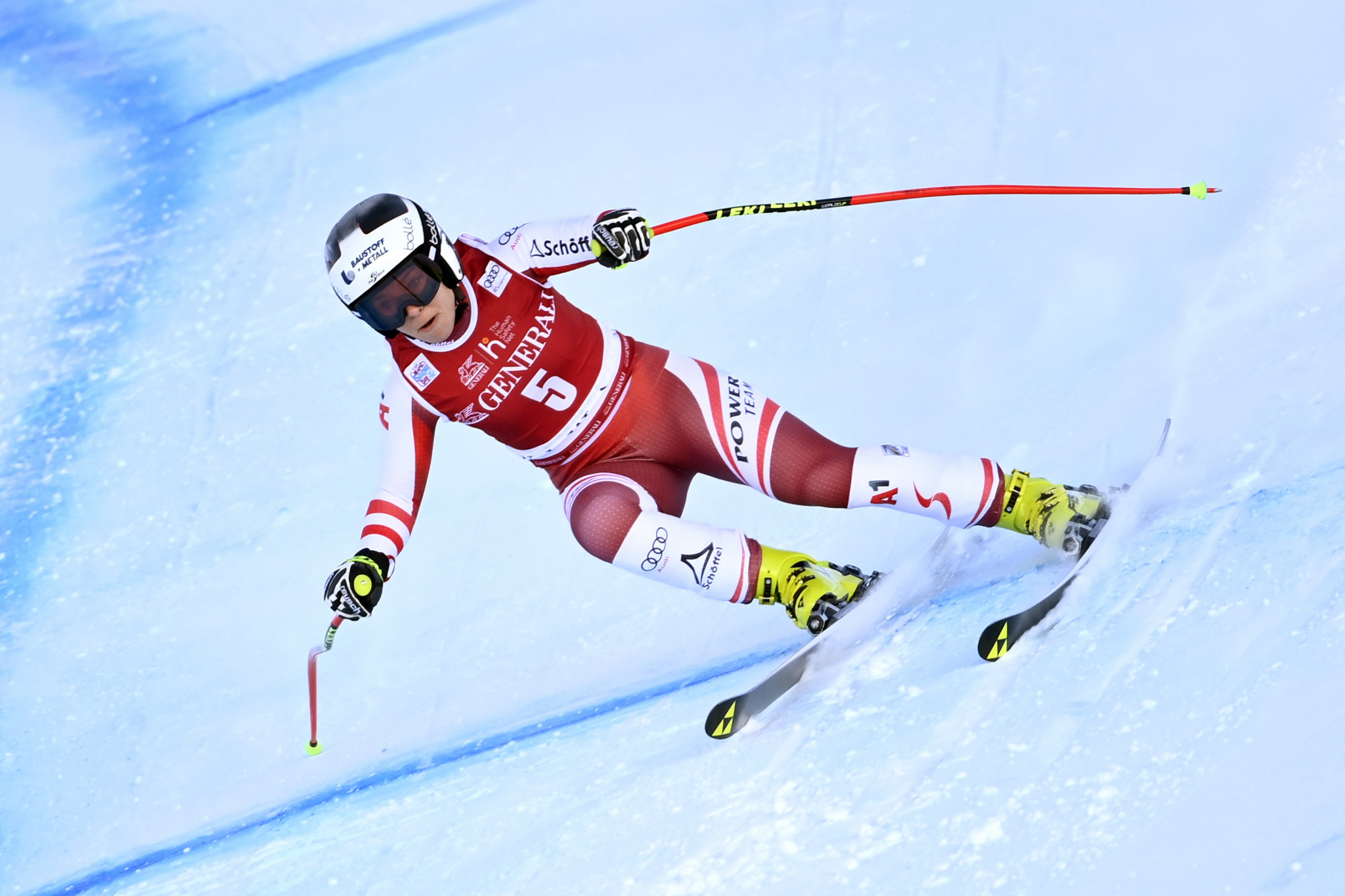 Schmidhofer returns from injury as Austria holds Alpine skiing training camps