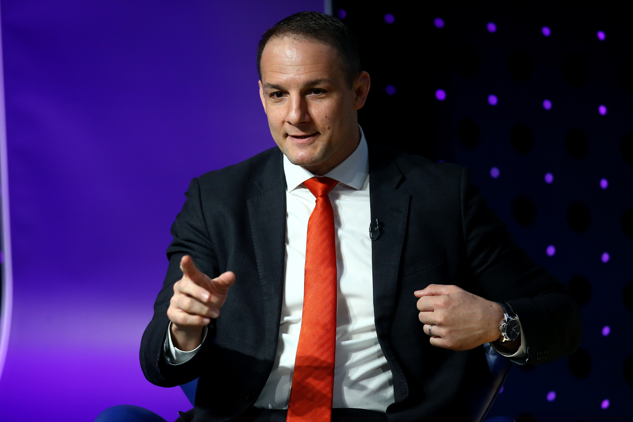 David Grevemberg, who had been Managing Director of the Commonwealth Games Federation since 2014, resigned in March © Getty Images