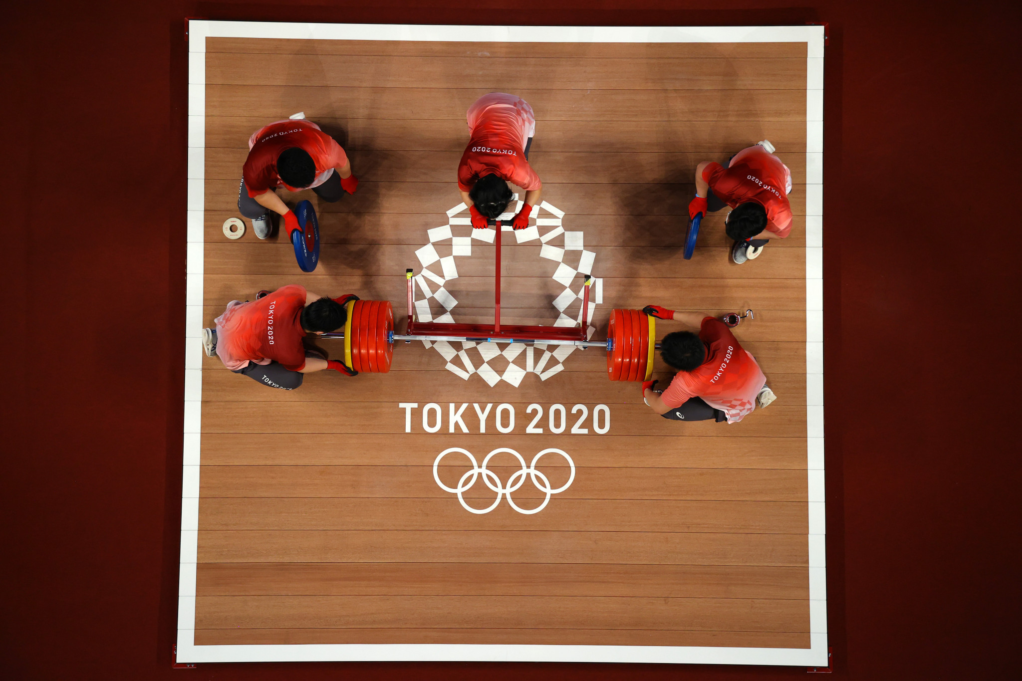 Weightlifting was on the Tokyo 2020 programme but is at risk of being excluded come Paris 2024 ©Getty Images
