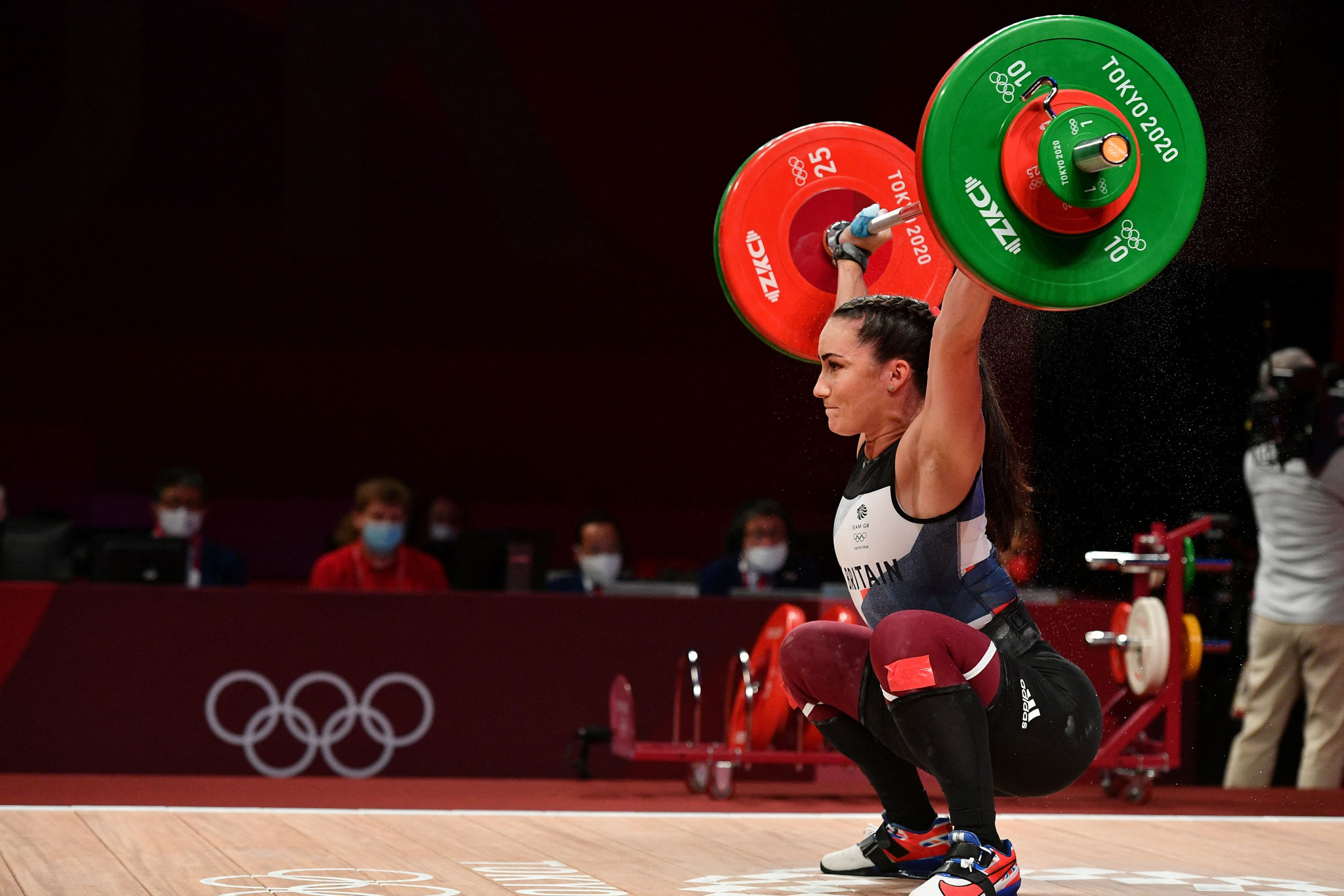 IWF Athletes' Commission chair Sarah Davies is among those calling for the IWF Board to resign en masse ©Getty Images