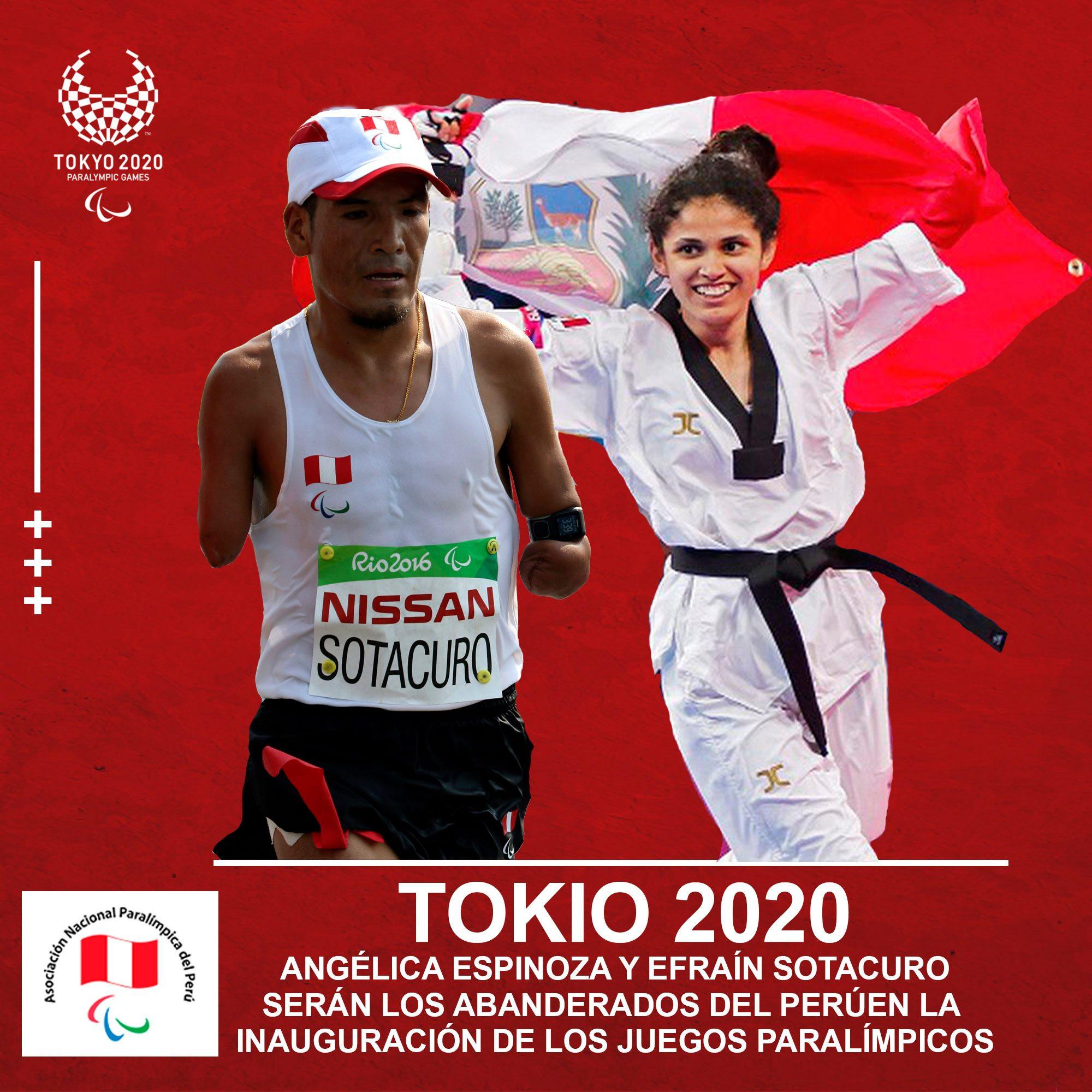 Lima 2019 Para taekwondo champion Espinoza picked as Peruvian flagbearer for Tokyo 2020