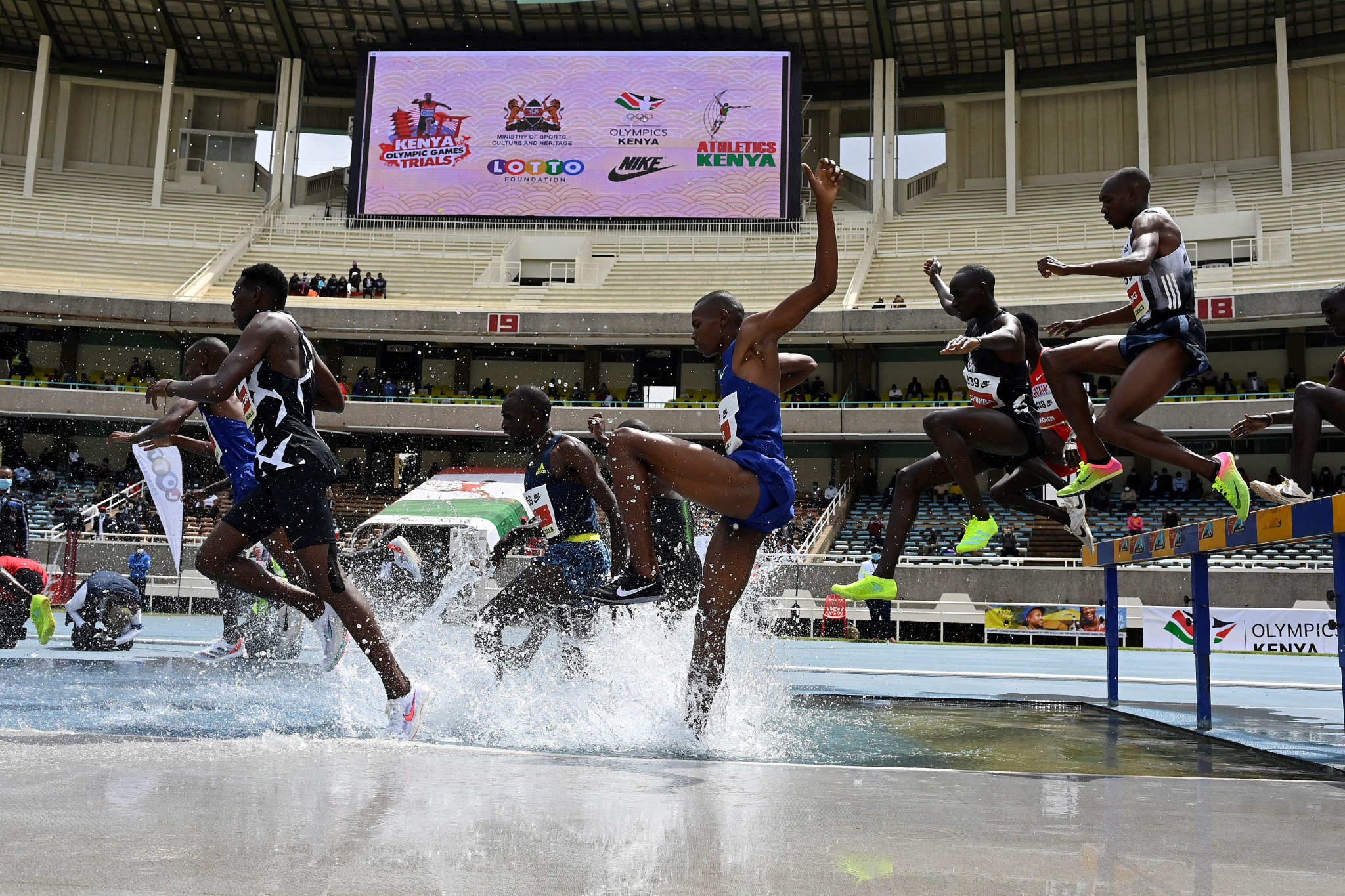 Kasarani Stadium is the primary venue for the  World Athletics Under-20 Championships ©Getty Images