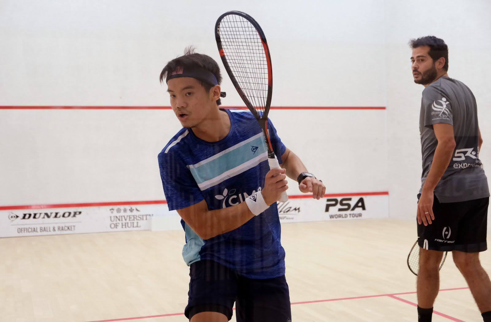 Gawad and Dessouky out of men's draw in British Open squash, while Serme withdraws from women's tournament