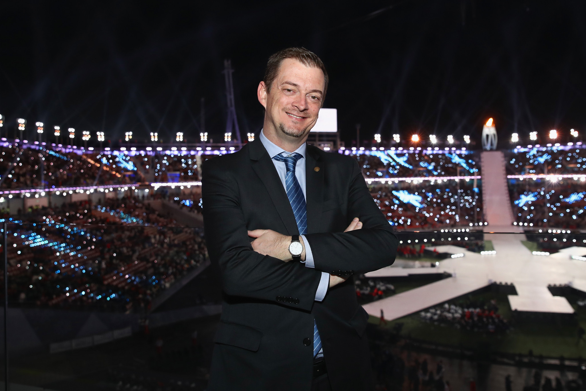 """International Paralympic Committee President Andrew Parsons says he believes the WeThe15 movement could be a """"game-changer"""" for people with disabilities ©Getty Images"""