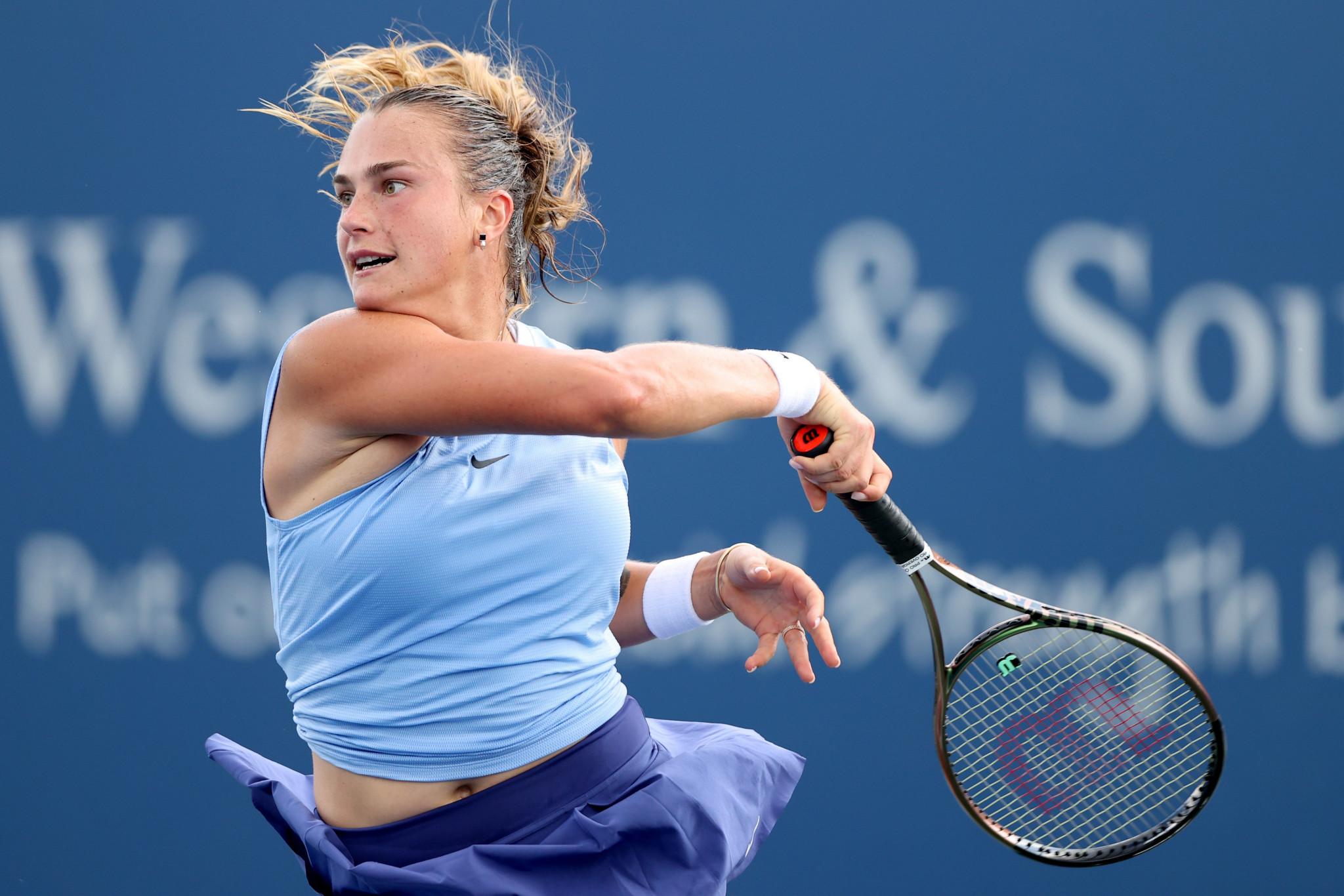 Aryna Sabalenka suffered a three-set defeat to Paula Badosa ©Getty Images