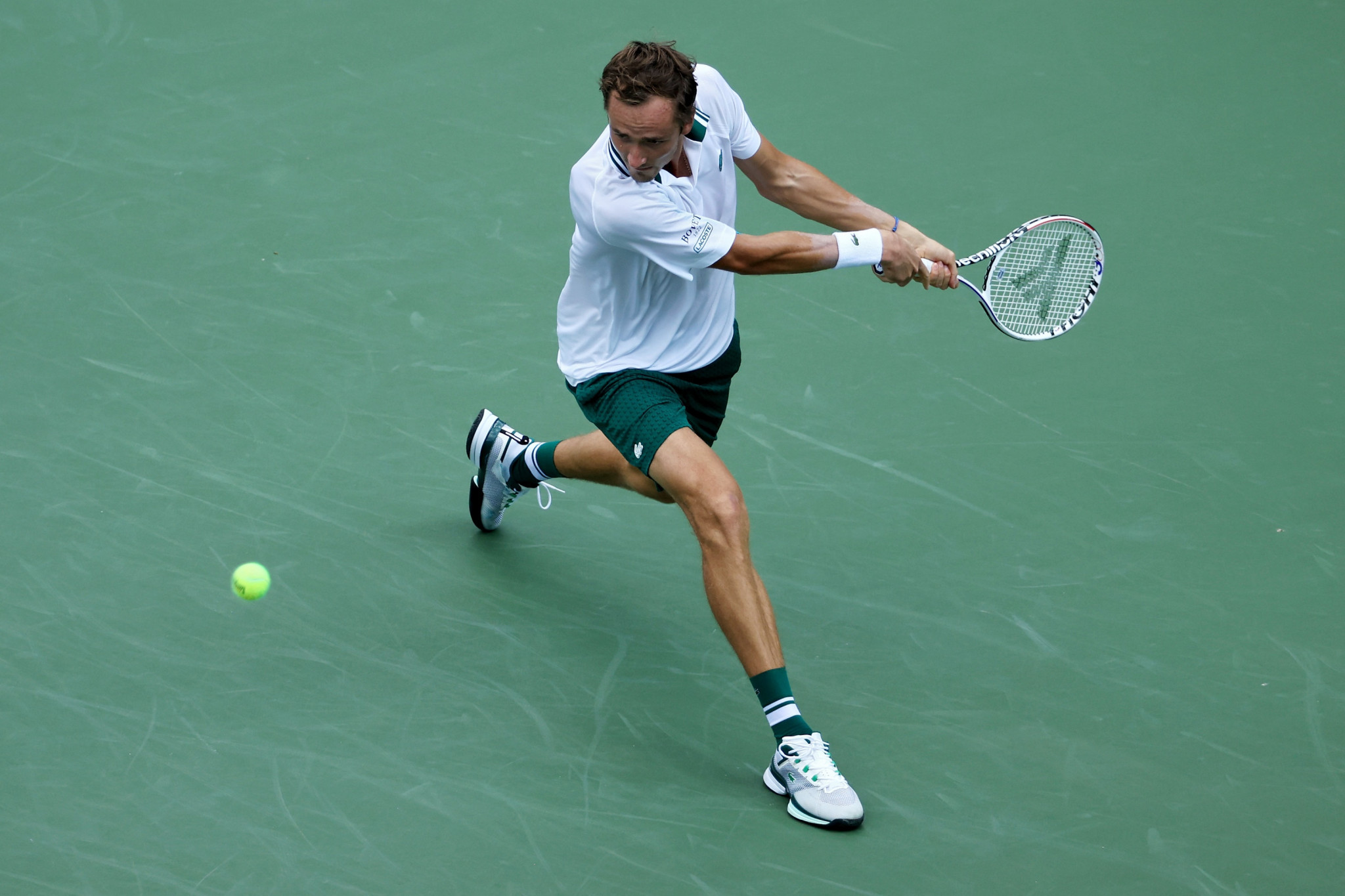 Canadian Open champion Daniil Medvedev cruised to victory against Mackenzie McDonald ©Getty Images