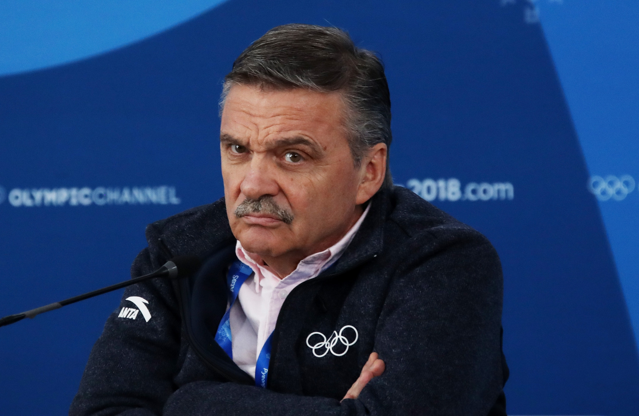 René Fasel of Switzerland has led the IIHF since 1994 but is set to step down ©Getty Images