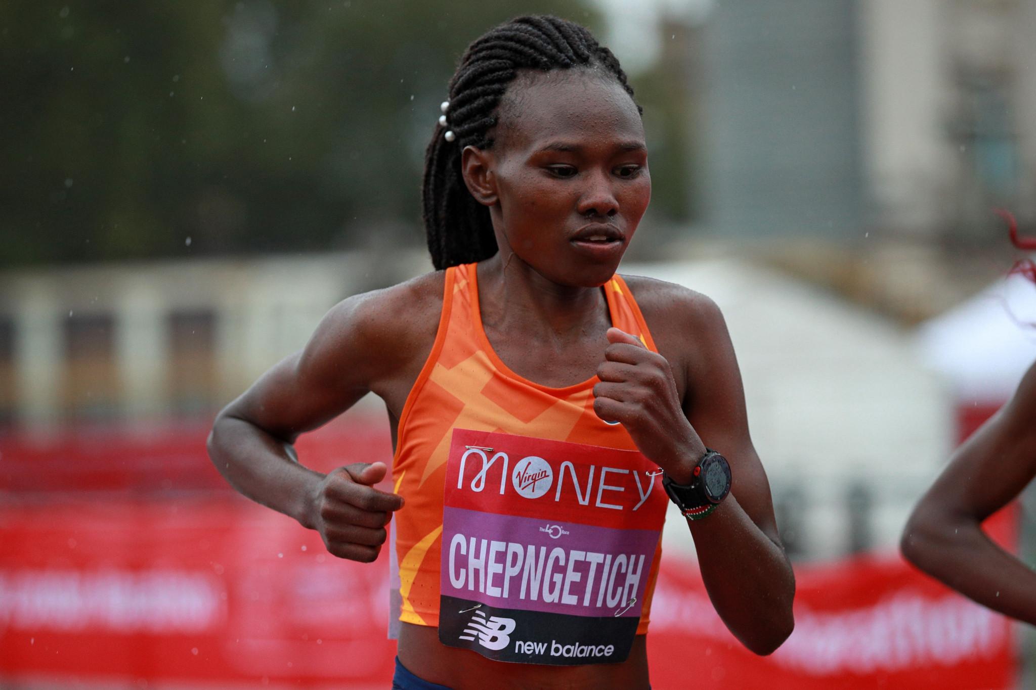 Ruth Chepngetich will make her Chicago Marathon debut ©Getty Images