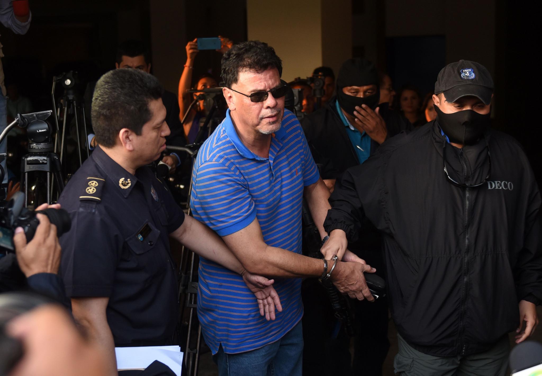 Reynaldo Vásquez fue arrestado en 2015 después de haber sido incluido en una acusación de Estados Unidos contra oficiales de fútbol © Getty Images