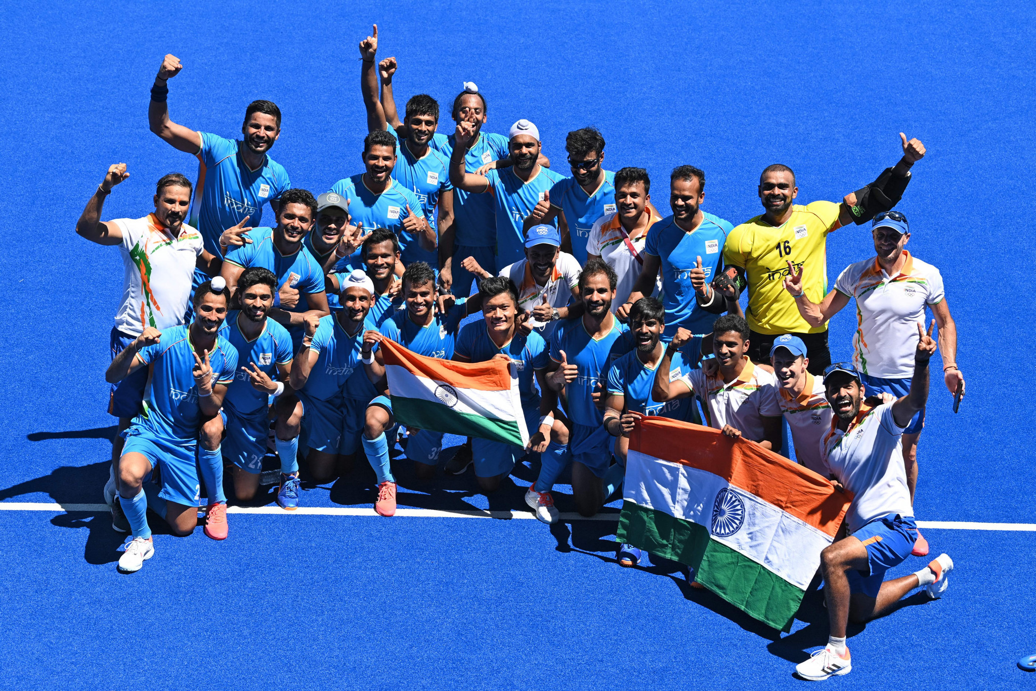 India men's hockey team ended a 41-year medal drought with their bronze medal at Tokyo 2020 ©Getty Images