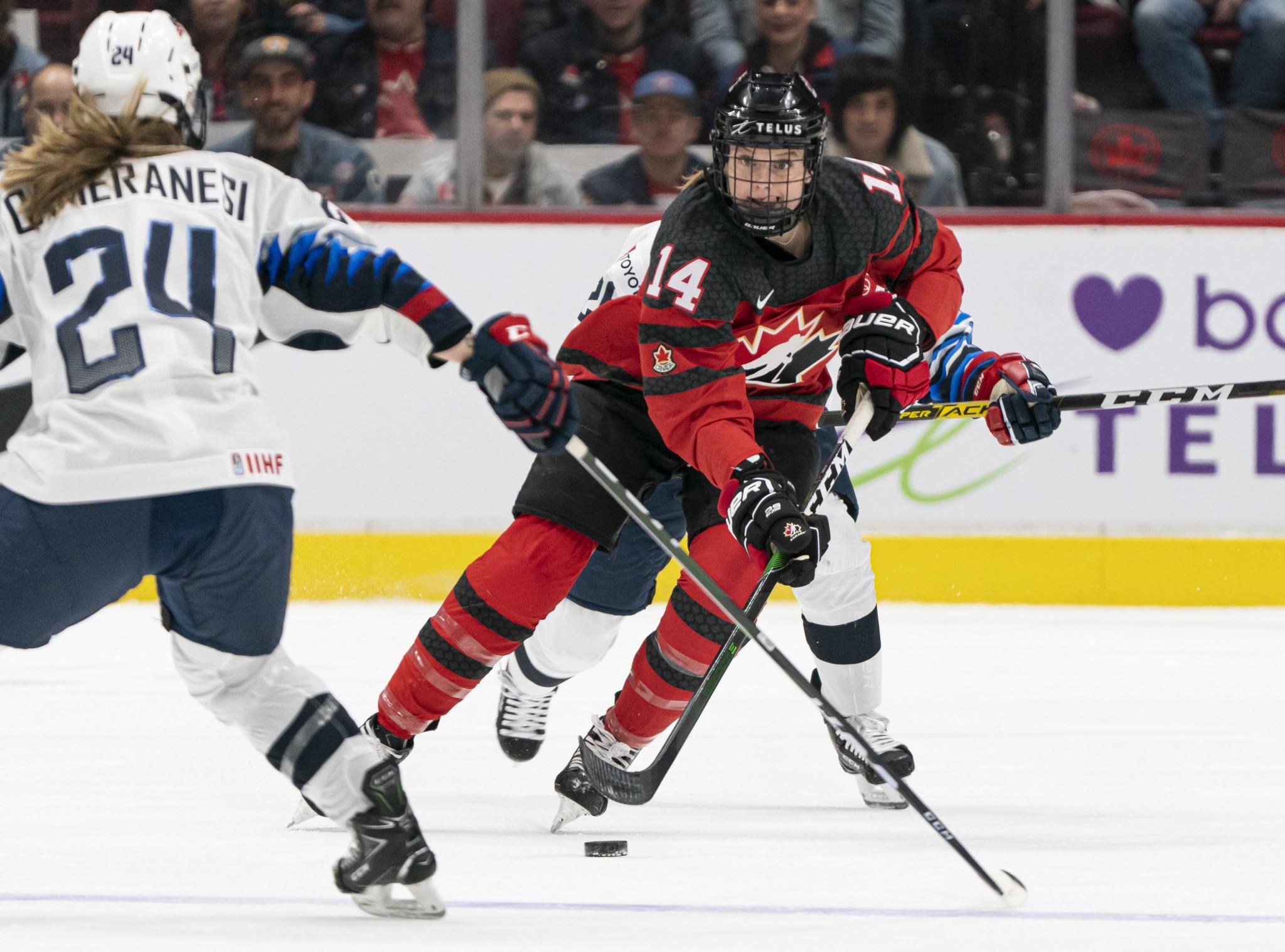 Delayed IIHF Women's World Championship poised to begin in Calgary