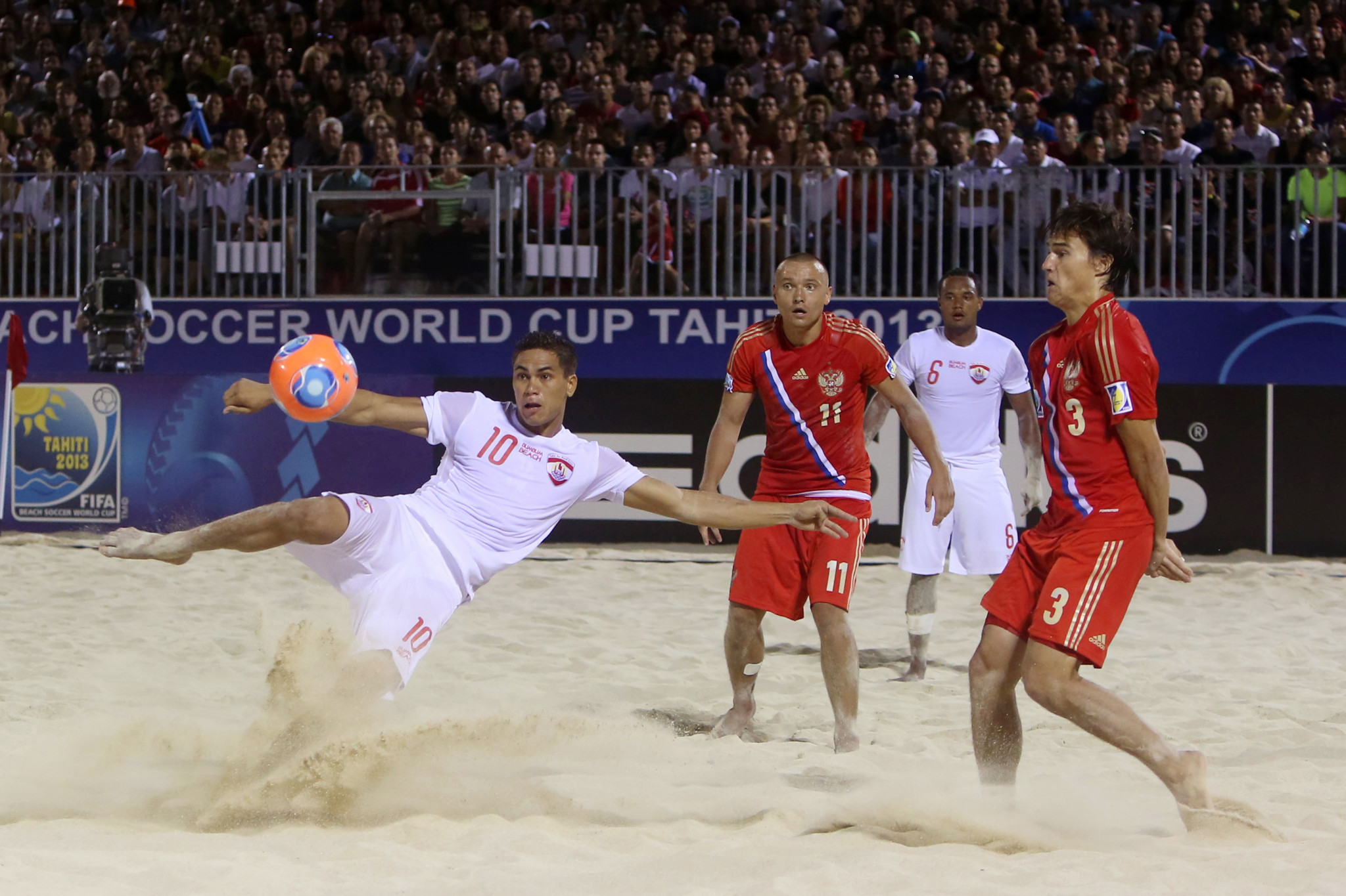 Russian Football Union starts home FIFA Beach Soccer World Cup with extra-time win against United States