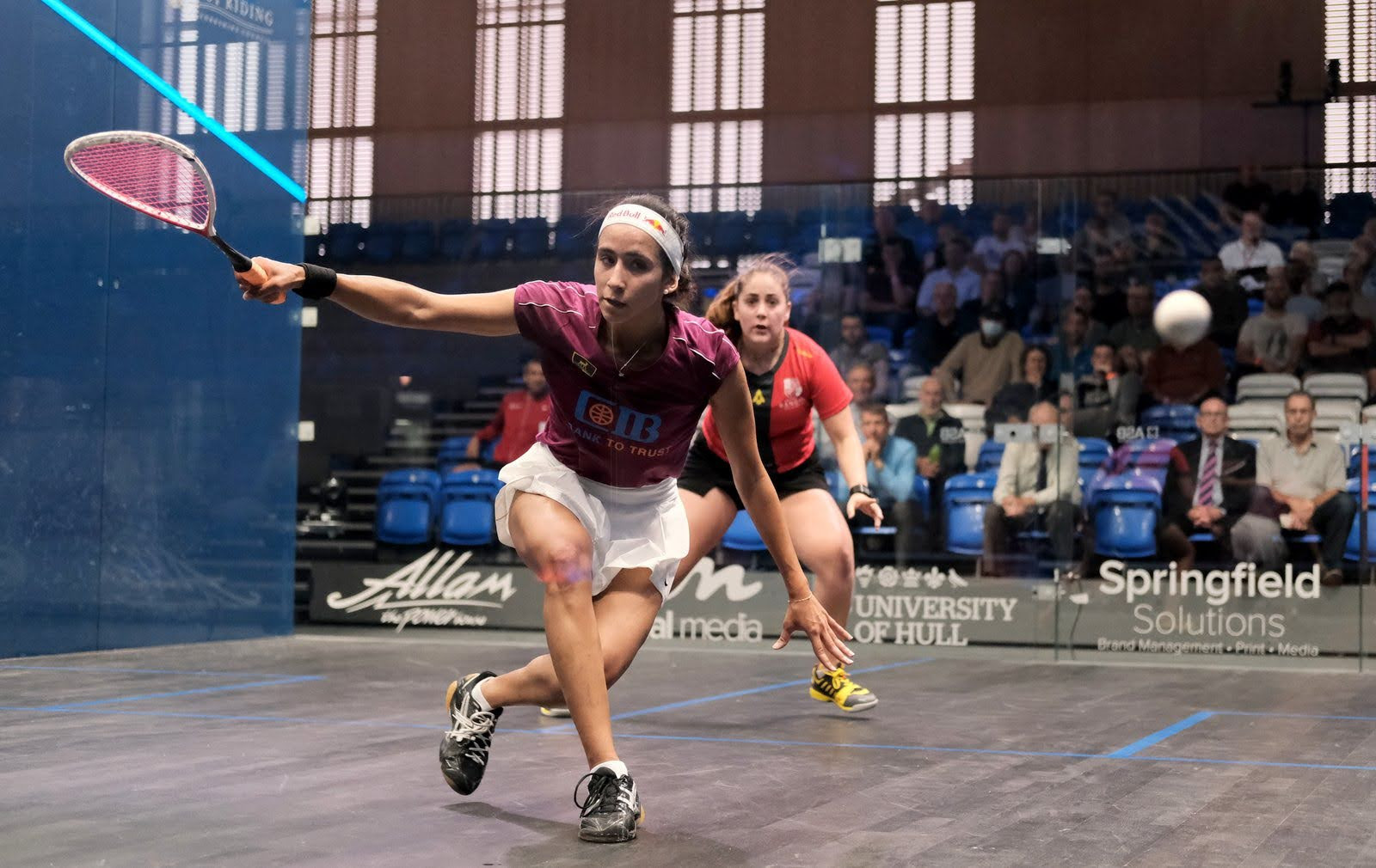 Seeded players progress to quarter-finals of British Open squash