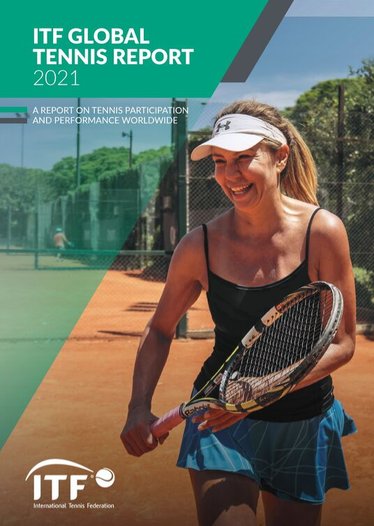 ITF says 2021 Global Tennis Report shows positive outlook despite pandemic challenges