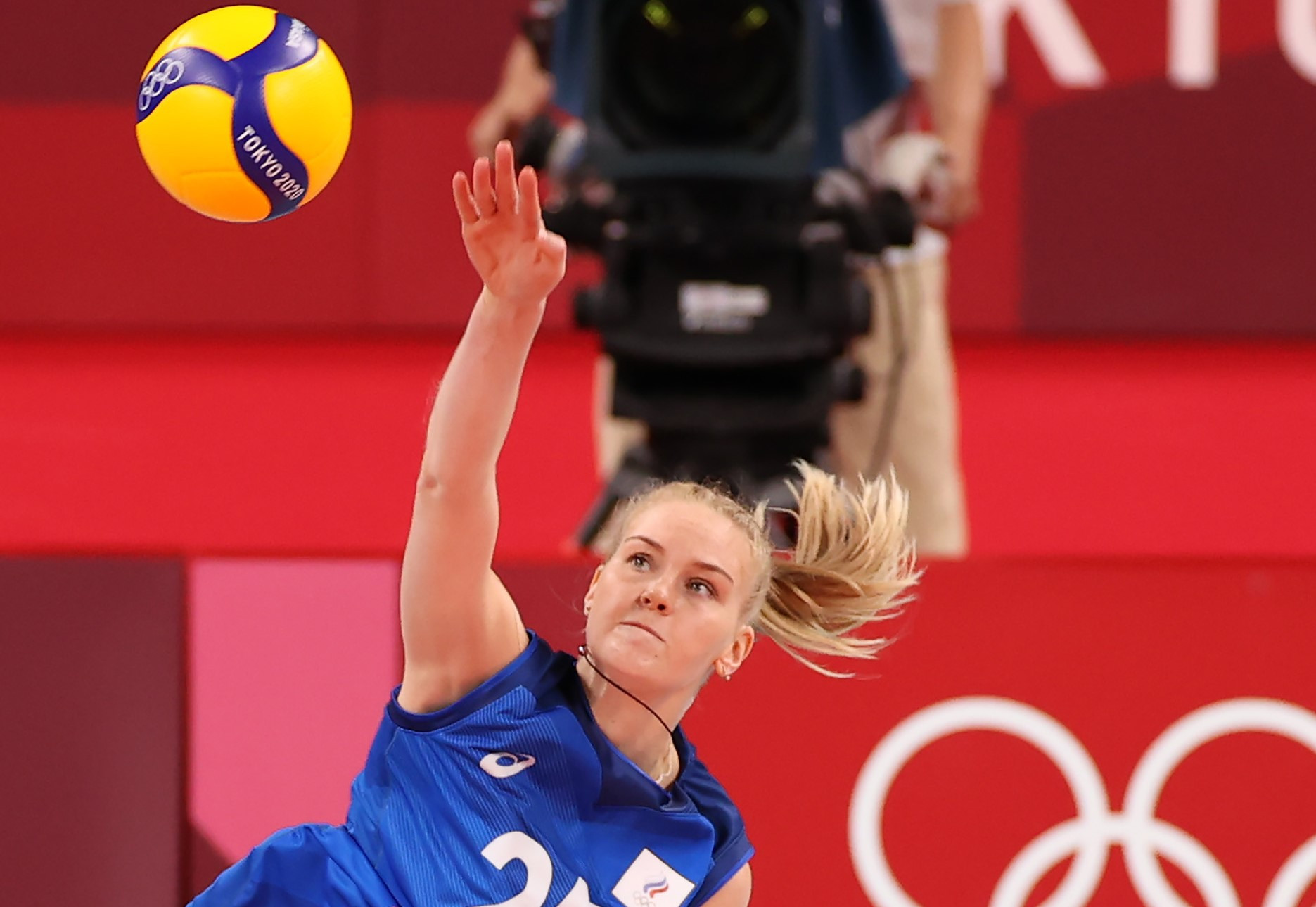 Russia start Women's EuroVolley campaign with win against France