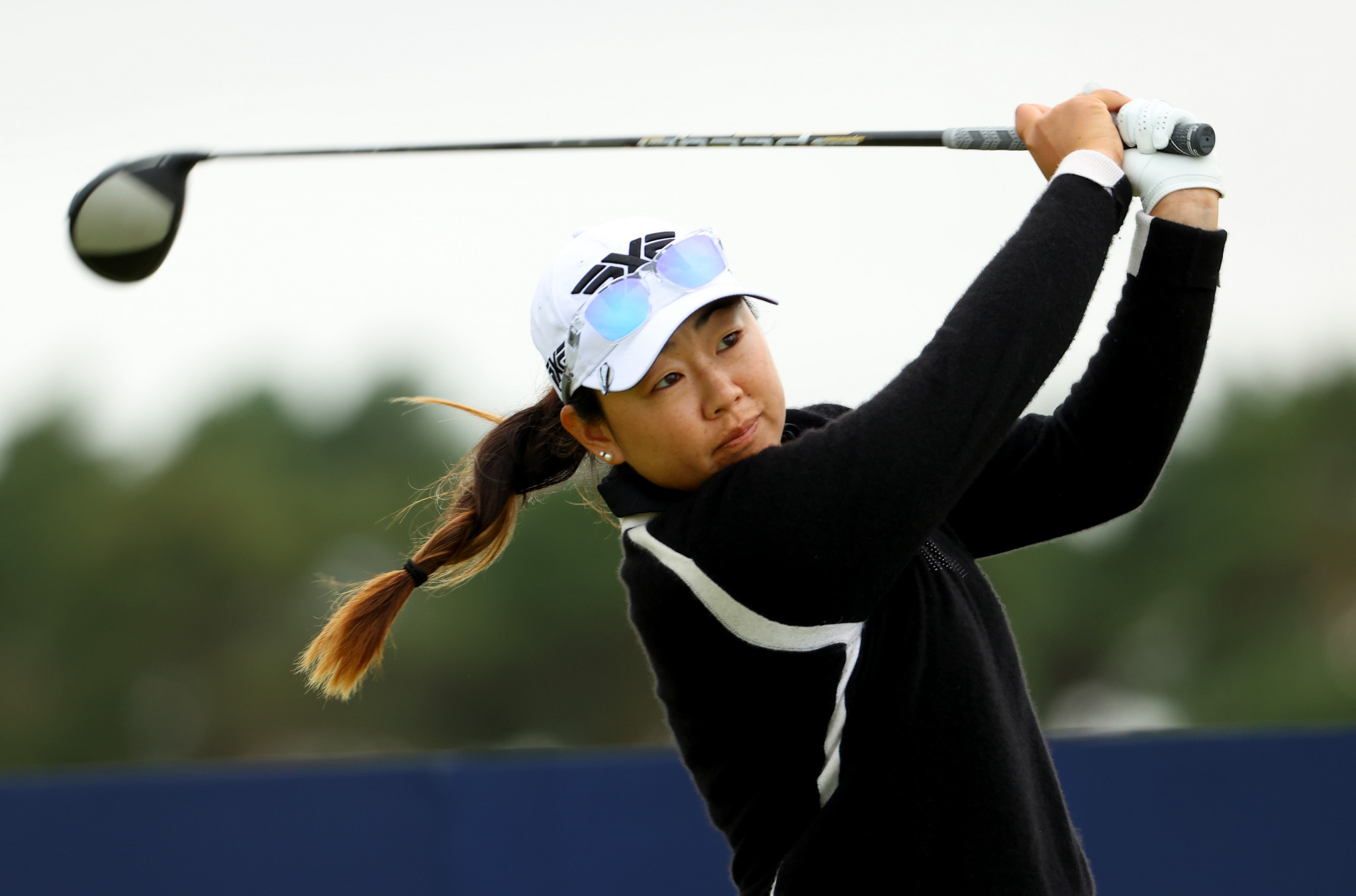 Hall and Harigae share 36-hole lead at Women's Open, Popov and Kang among those cut