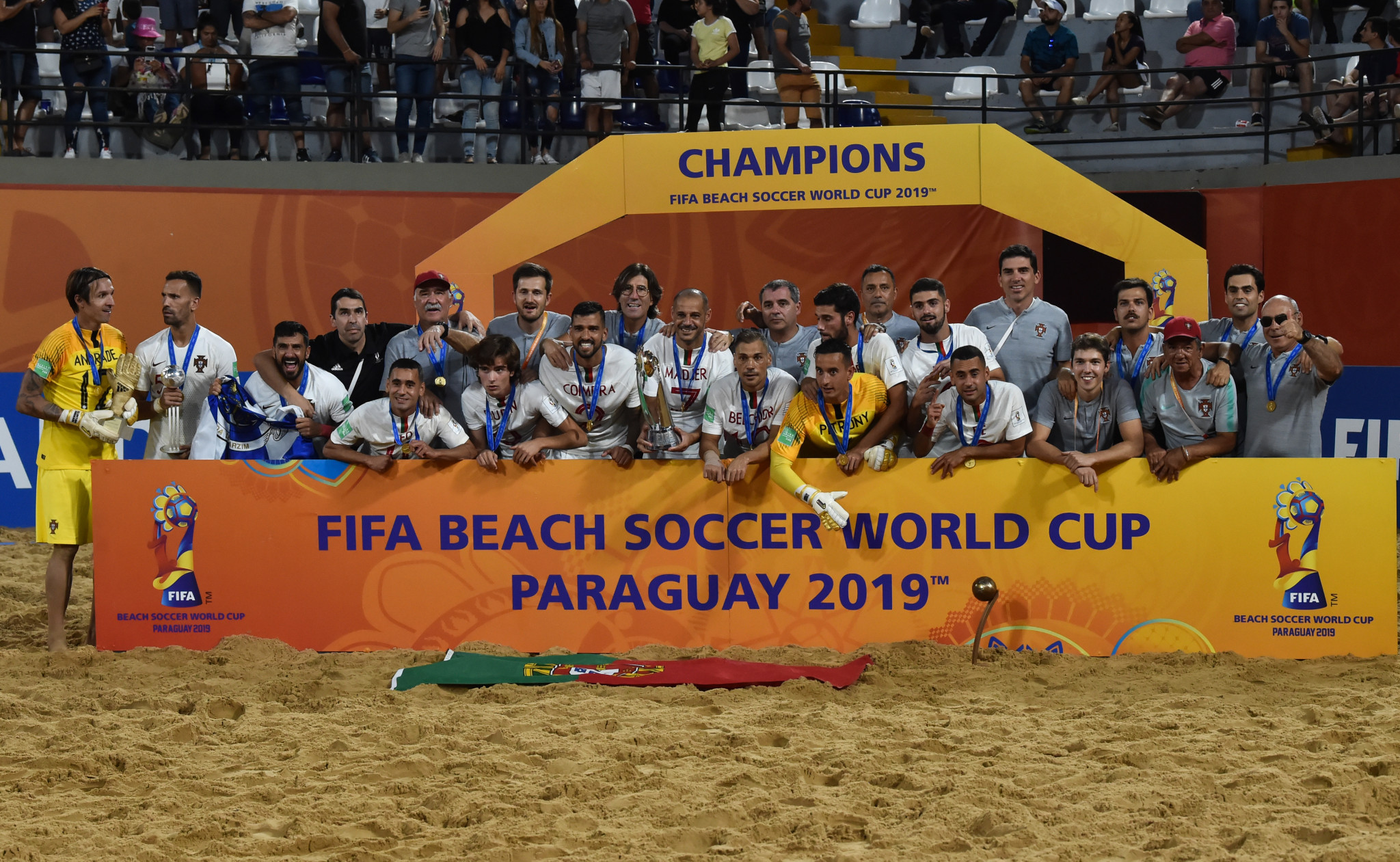 Portugal start FIFA Beach Soccer World Cup defence with win over Oman