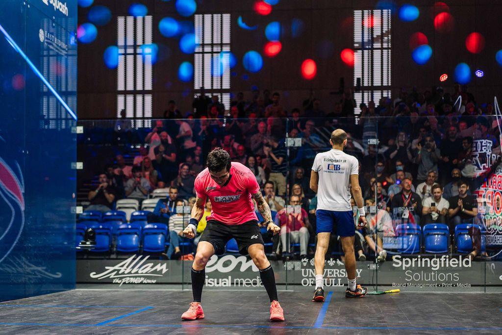 Marwan ElShorbagy beaten in British Open squash quarter-finals but other top seeds progress