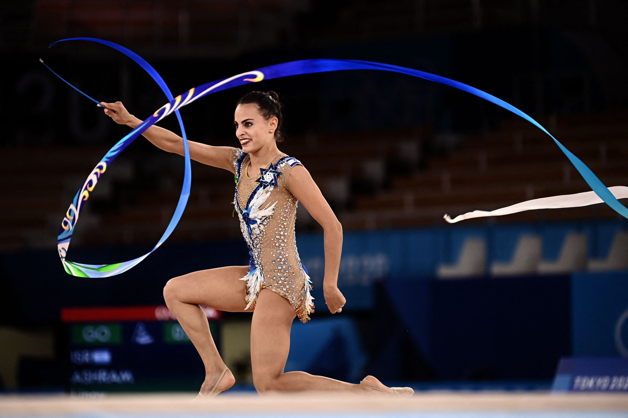 Linoy Ashram's win in the individual all-around has been upheld by FIG ©Getty Images
