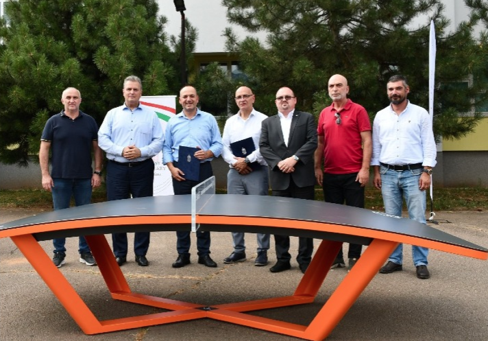 FITEQ donates tables to Kosovo and conducts pre-2023 European Games workshops
