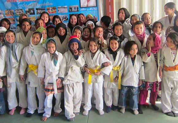 Coach who taught Afghan girls judo safe in Germany after IJF and German Judo Federation aid escape