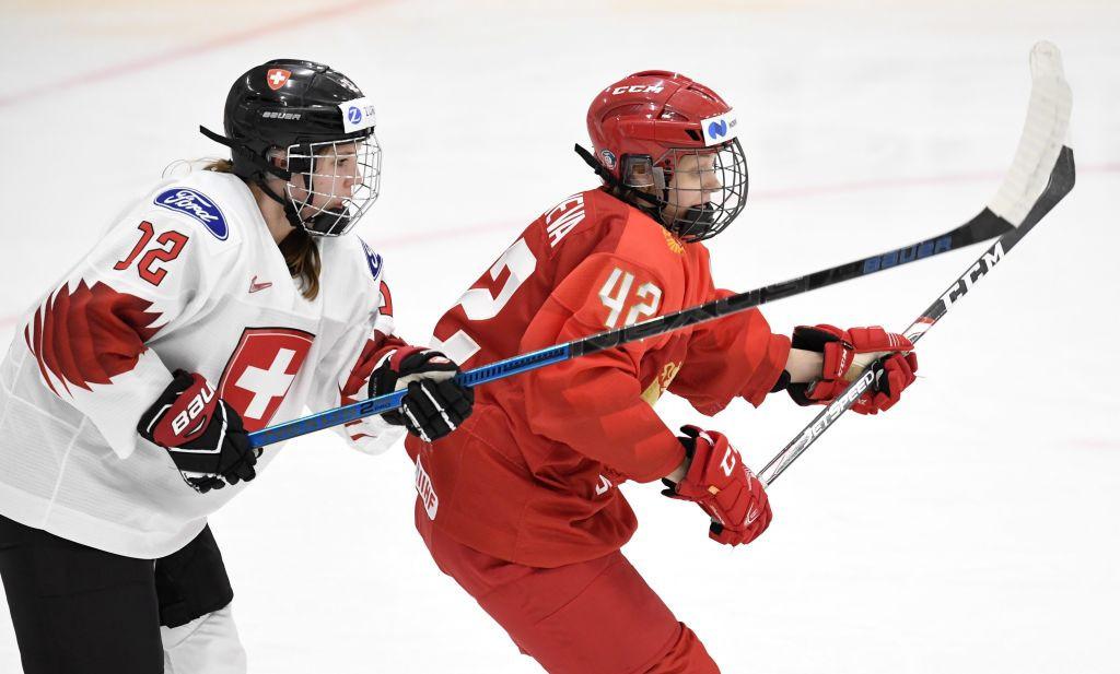 ROC begin IIHF Women's World Championship campaign with win over Switzerland