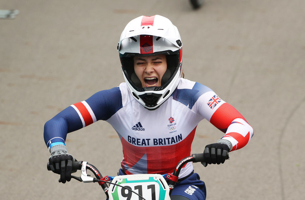 Britain's Bethany Shriever added BMX World Championships gold to her Olympic title ©Getty Images