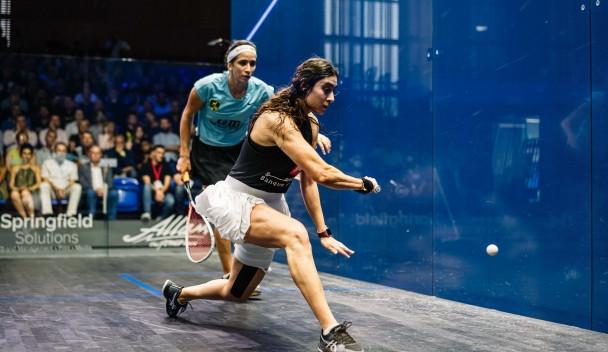 El Sherbini and Coll win British Open squash titles