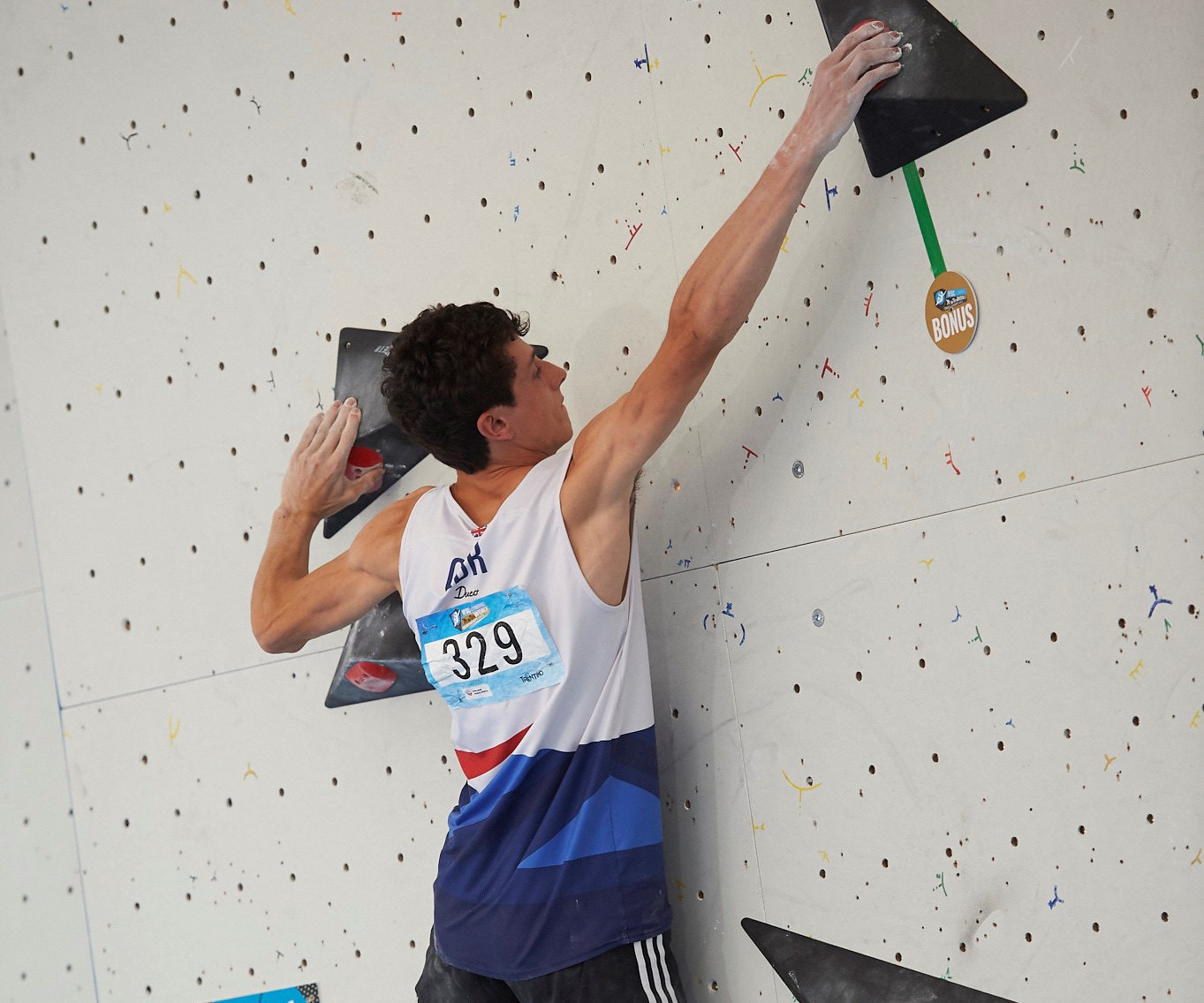 McArthur leads the way in junior qualification at IFSC World Youth Championships