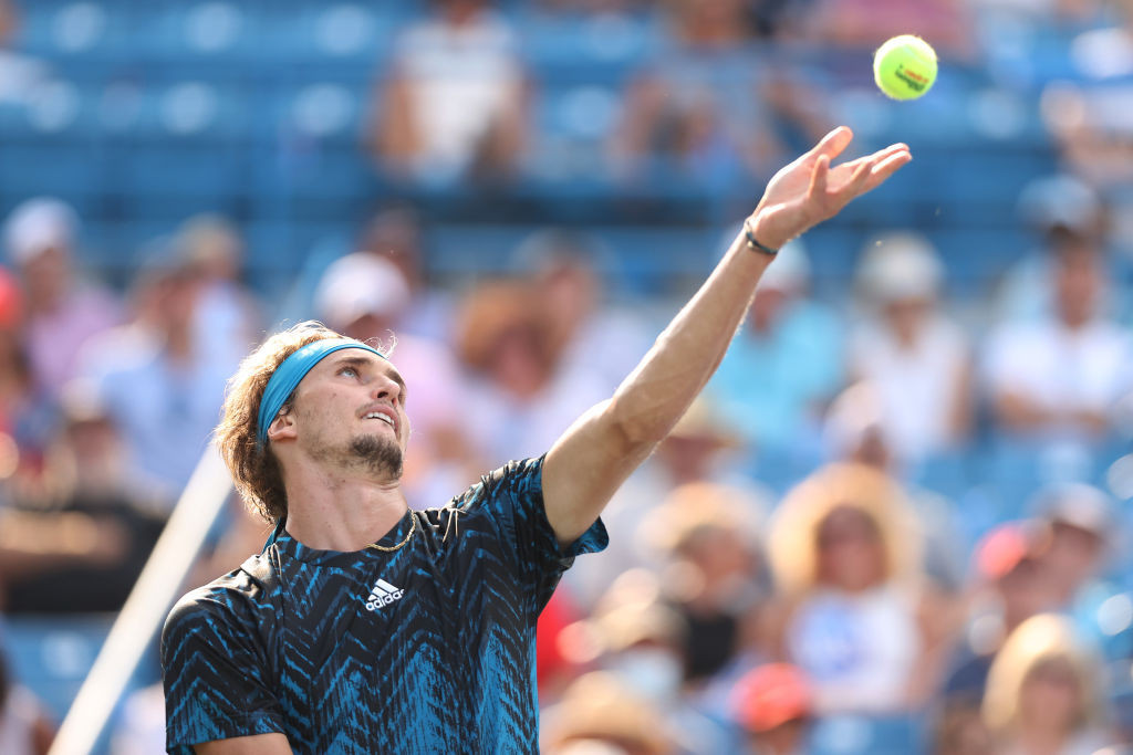 Alexander Zverev eased to a straight-sets win over Andrey Rublev to claim the men's title at the Cincinnati Masters ©Getty Images