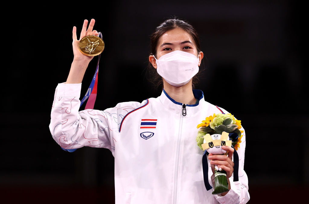 Coach of Thai Tokyo 2020 taekwondo champion claims gold brought joy amid pandemic