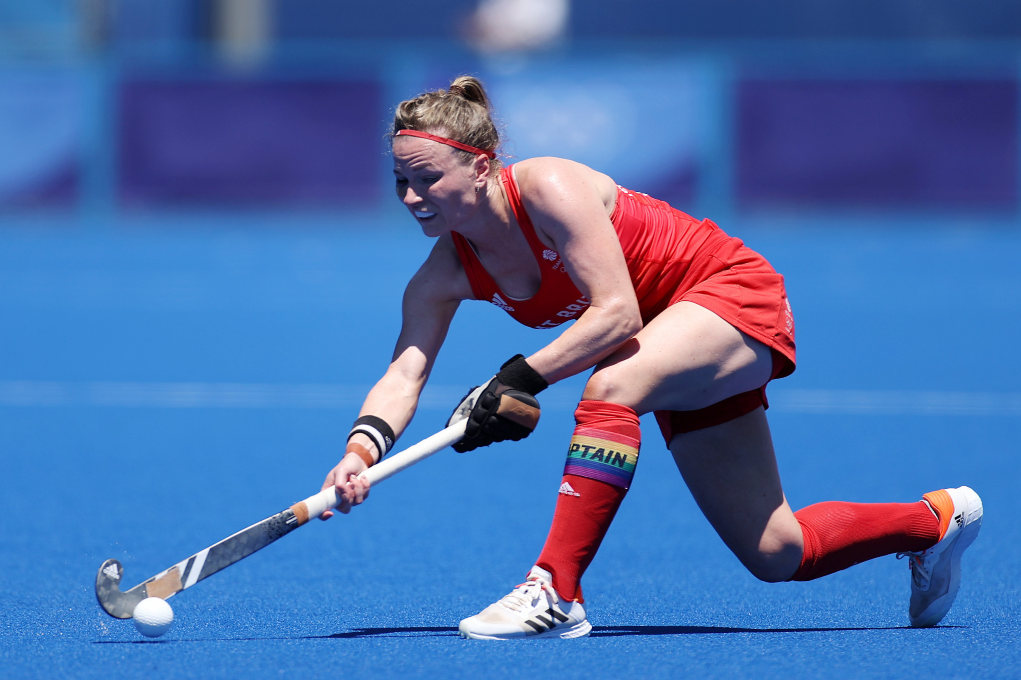 Hollie Pearne-Webb won Olympic gold at Rio 2016 and bronze at Tokyo 2020 with Team GB's women's hockey team ©Getty Images