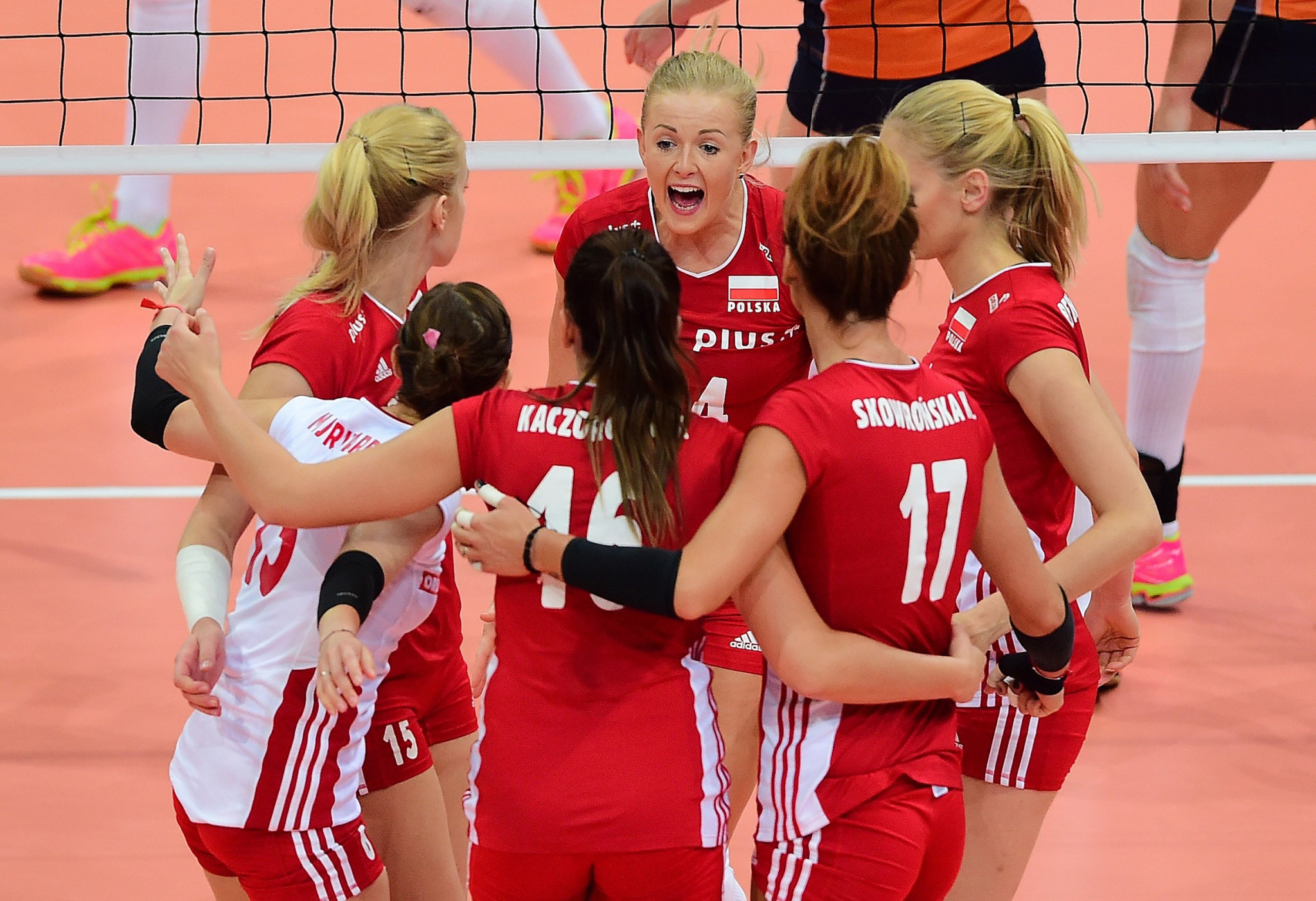 Six teams remain unbeaten after sixth day of Women's EuroVolley