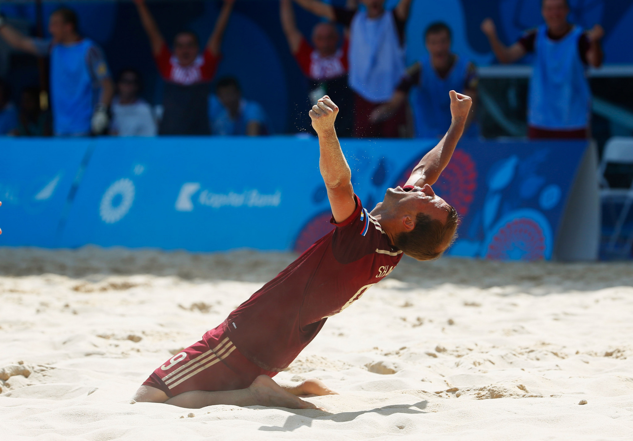 Four teams book their places in 2021 FIFA Beach Soccer World Cup quarter-finals