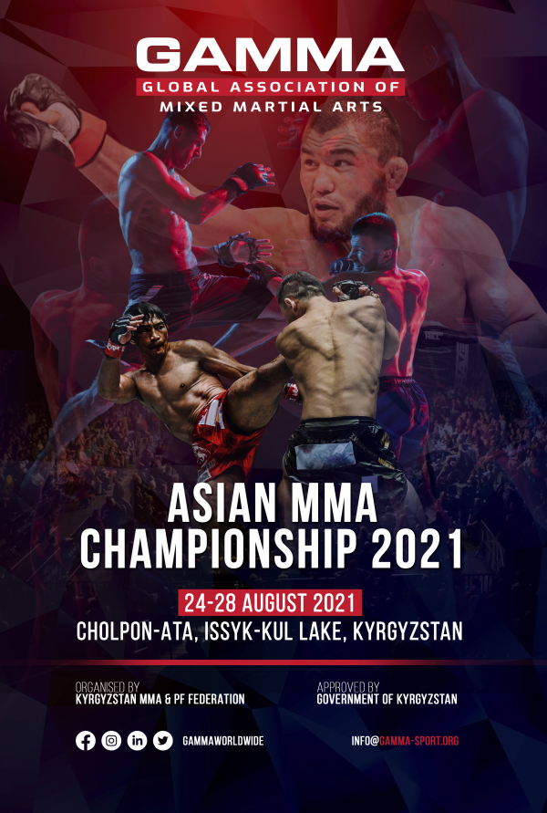Thirty-two weight classes set to be contested at delayed GAMMA Asian MMA Championships