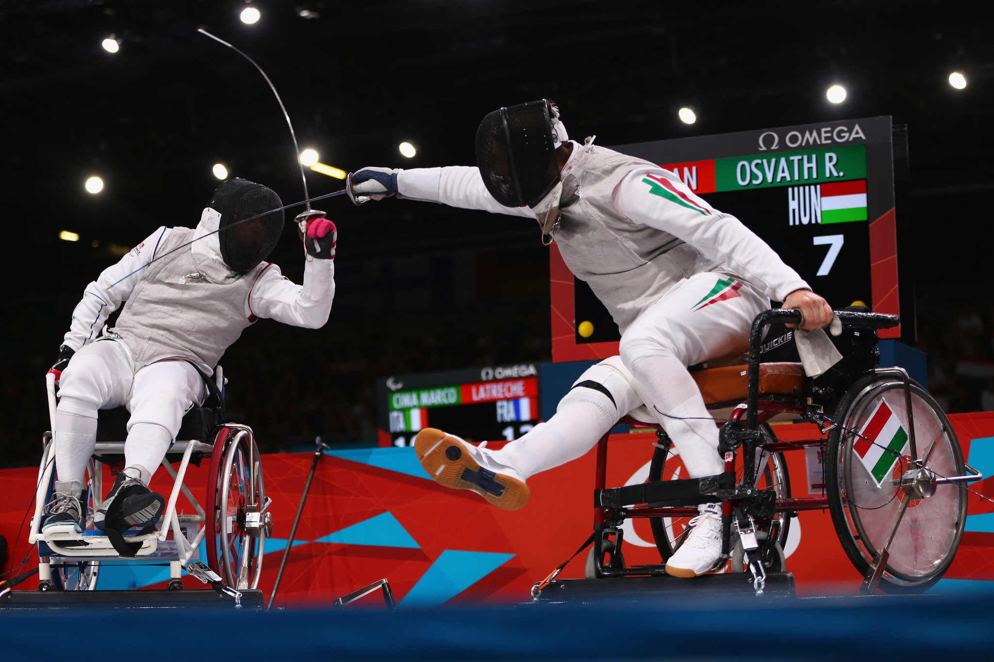 Wheelchair fencing one of three sports to award medals on first day of Tokyo 2020 Paralympics competition