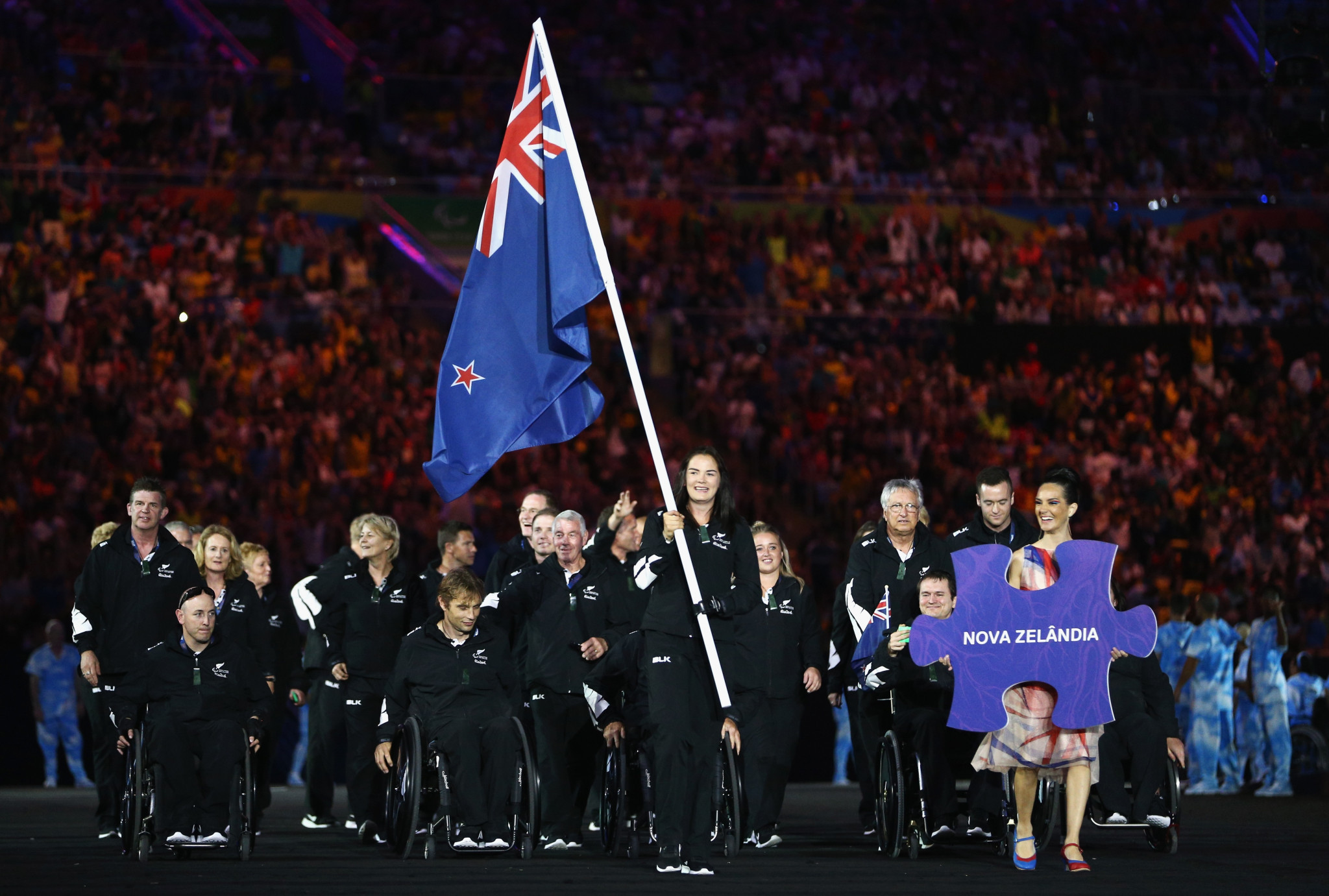 New Zealand will not be taking part in the Parade of Nations ©Getty Images