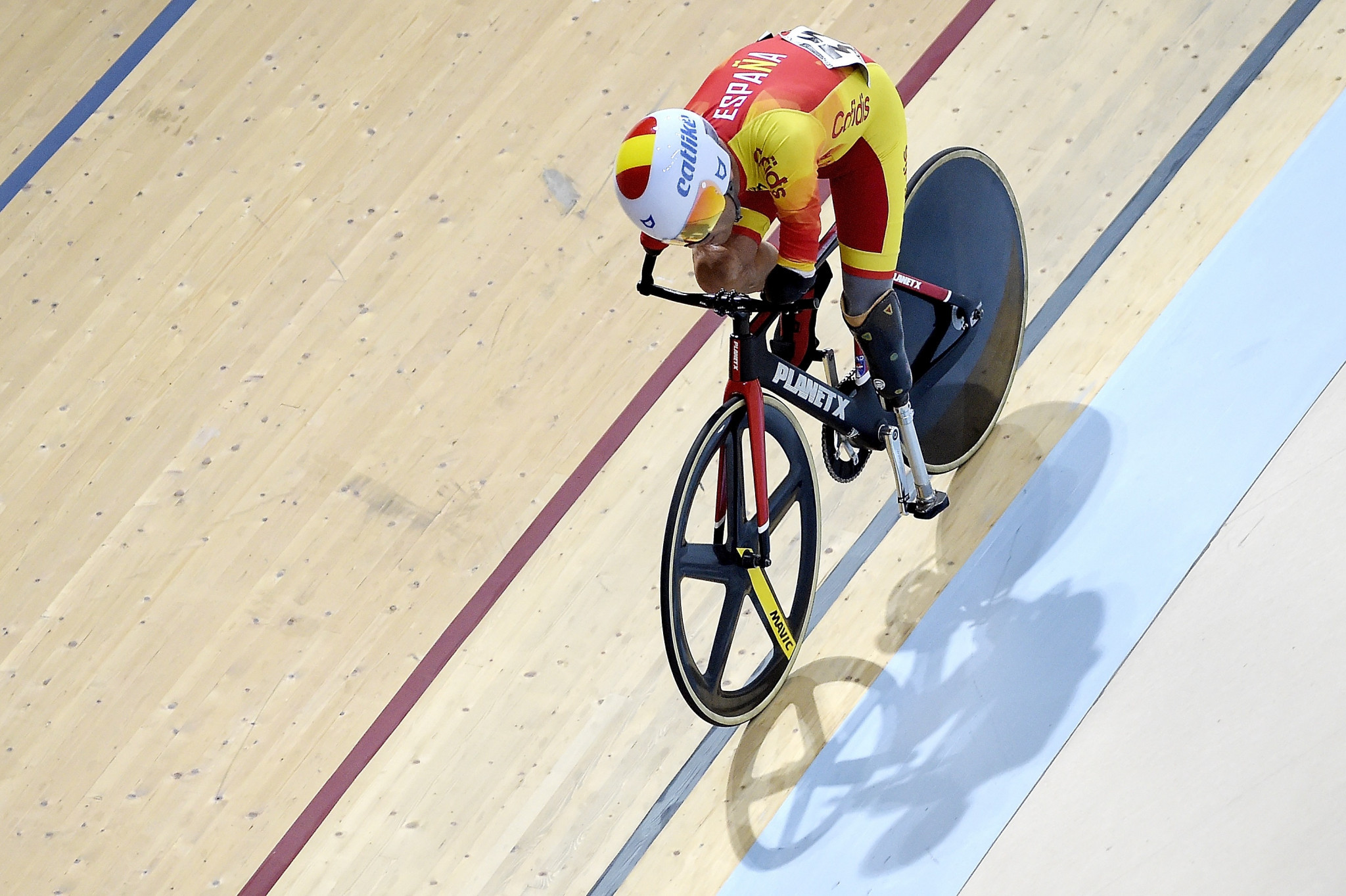 Spain's Ricardo Ten Argiles is expected to challenge Li Zhangyu in the men's C1-3 1000m and C1 3,000m individual pursuit after switching sports from swimming ©Getty Images