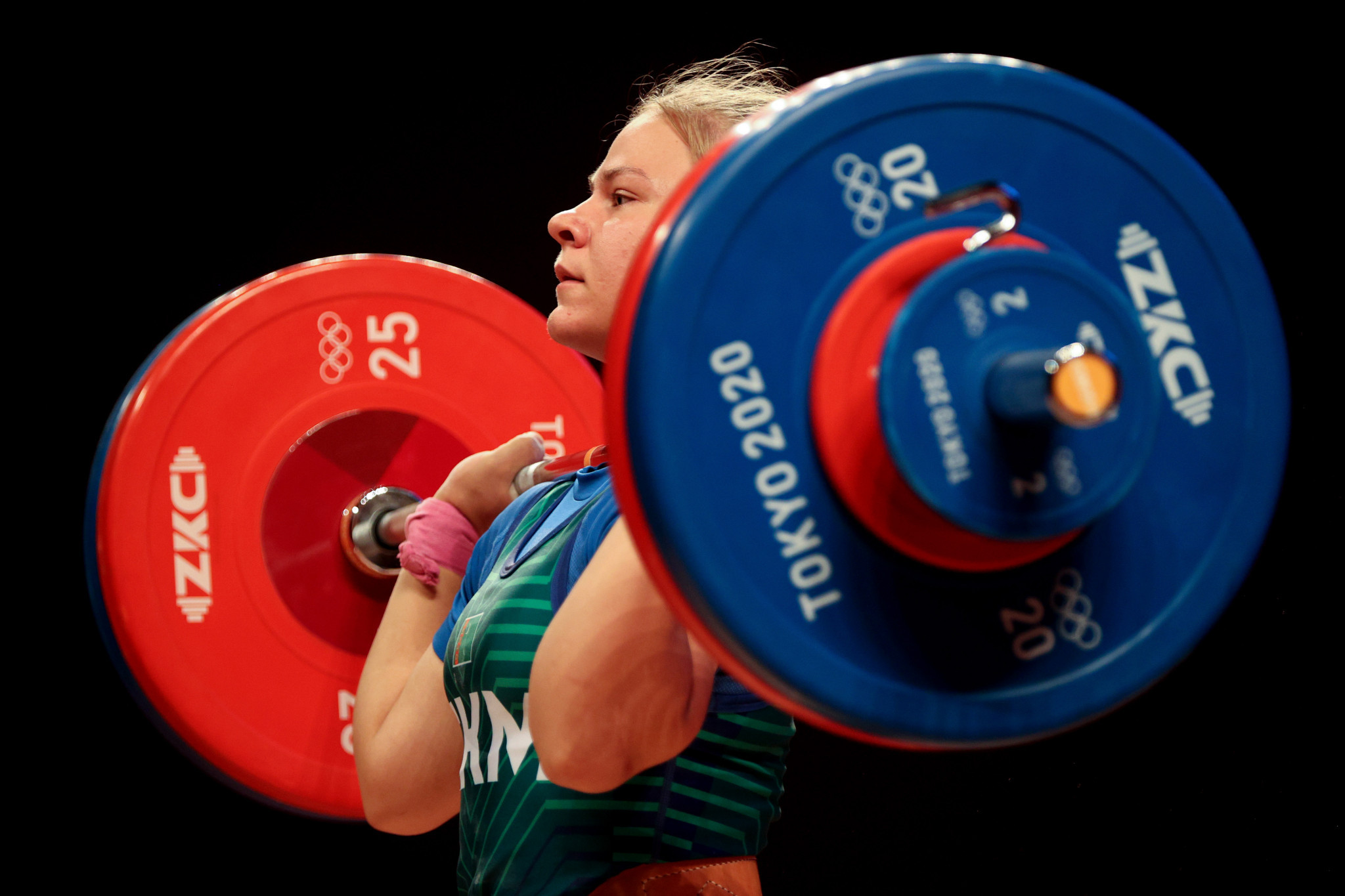 Polina Guryeva won the Olympic silver medal in the women's 59kg category at Tokyo 2020 ©Getty Images