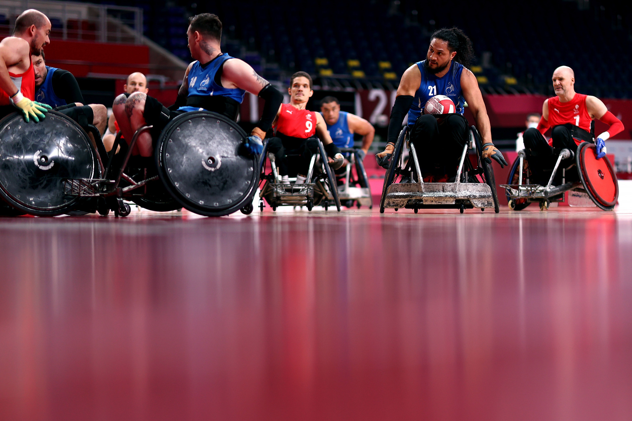 Tickets on sale for 2022 Wheelchair Rugby World Championship