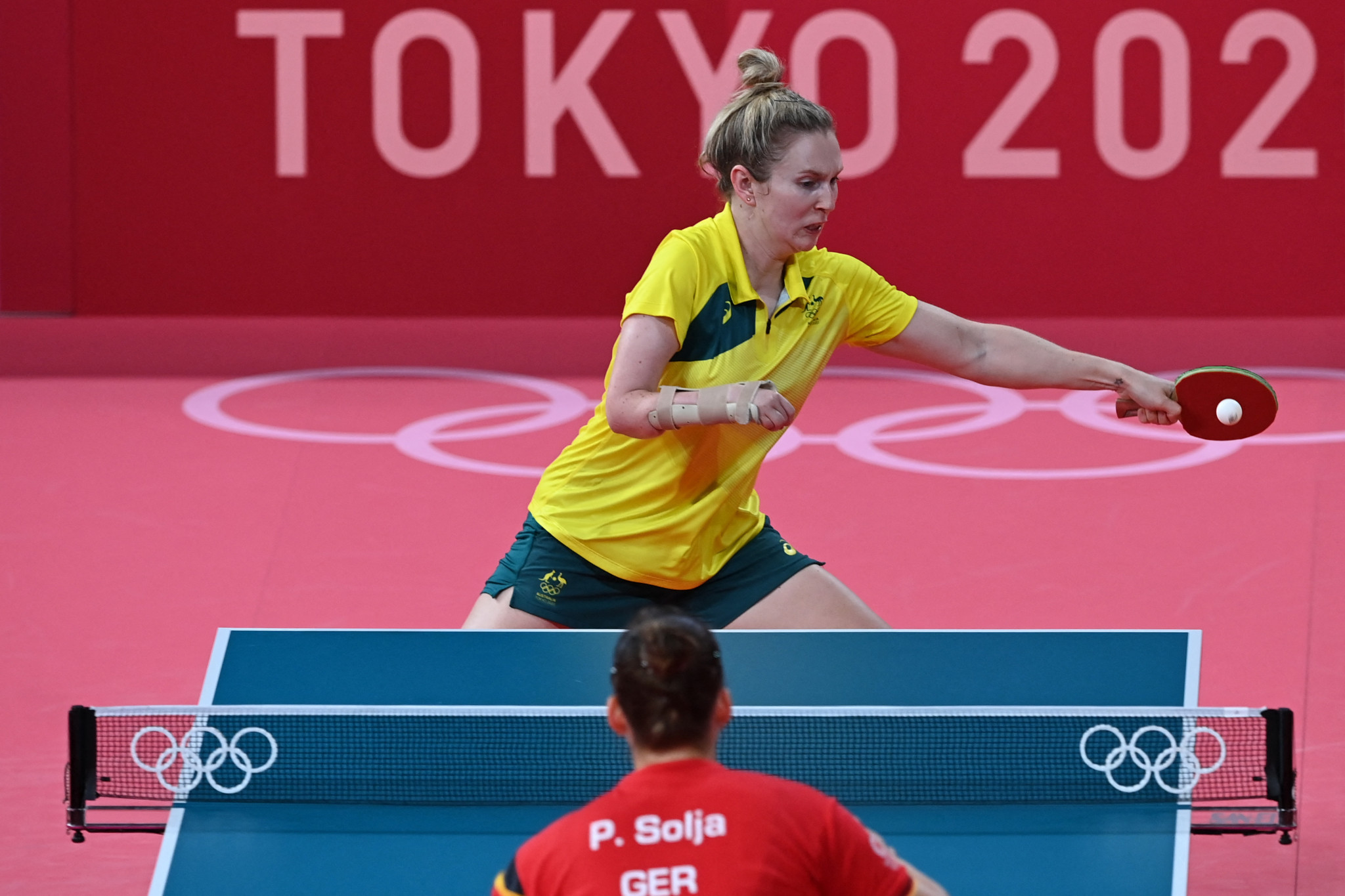 Table tennis pair chase Paralympic gold after Olympic experience