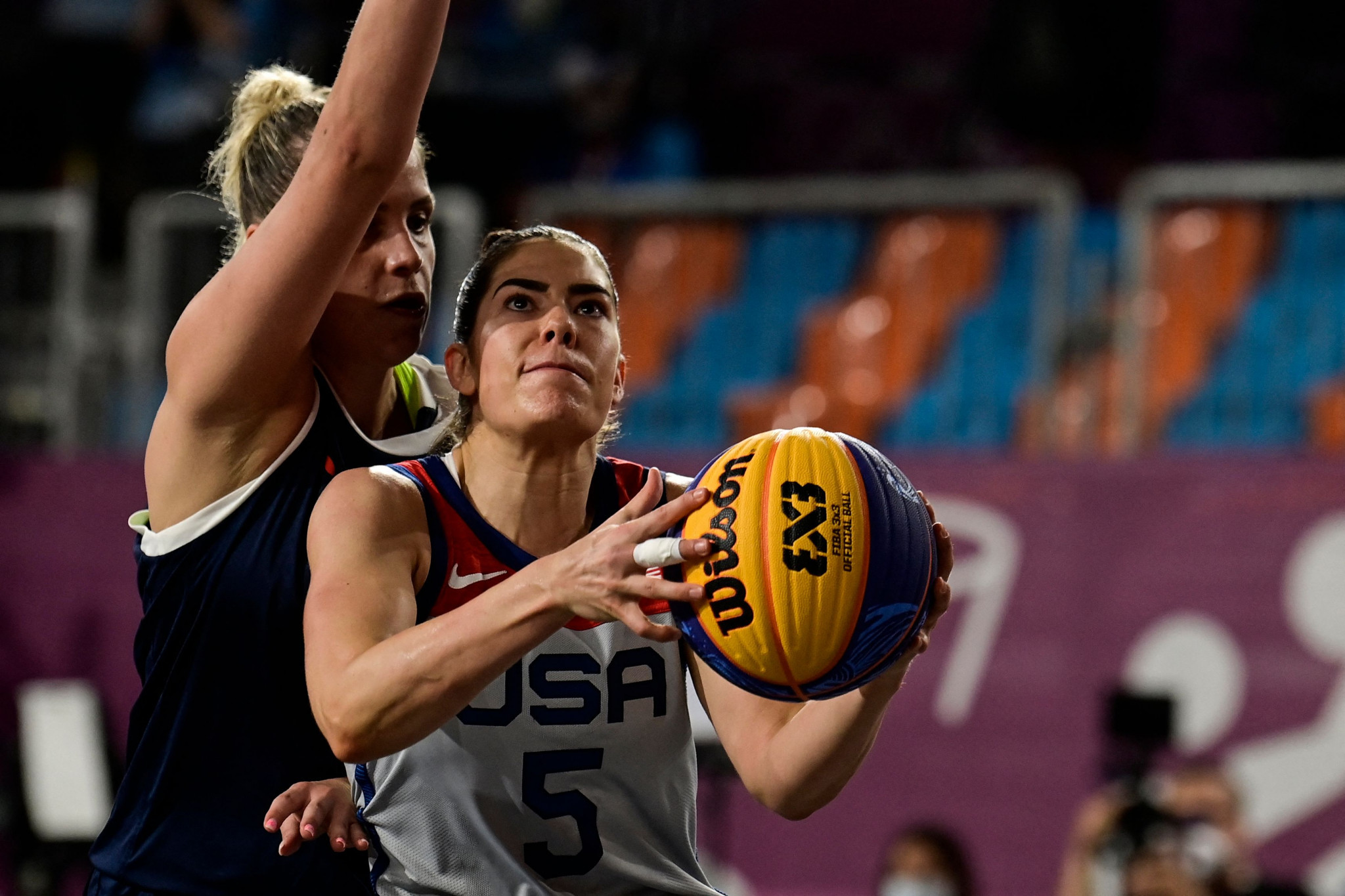 Ukraine and United States off to powerful starts at FIBA 3x3 Under-18 World Cup in Hungary