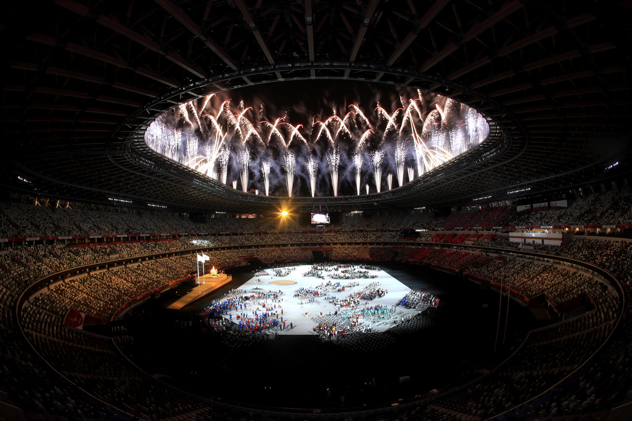 The Tokyo 2020 Paralympics were opened yesterday but organisers are battling to reduce the spread of COVID-19 ©Getty Images